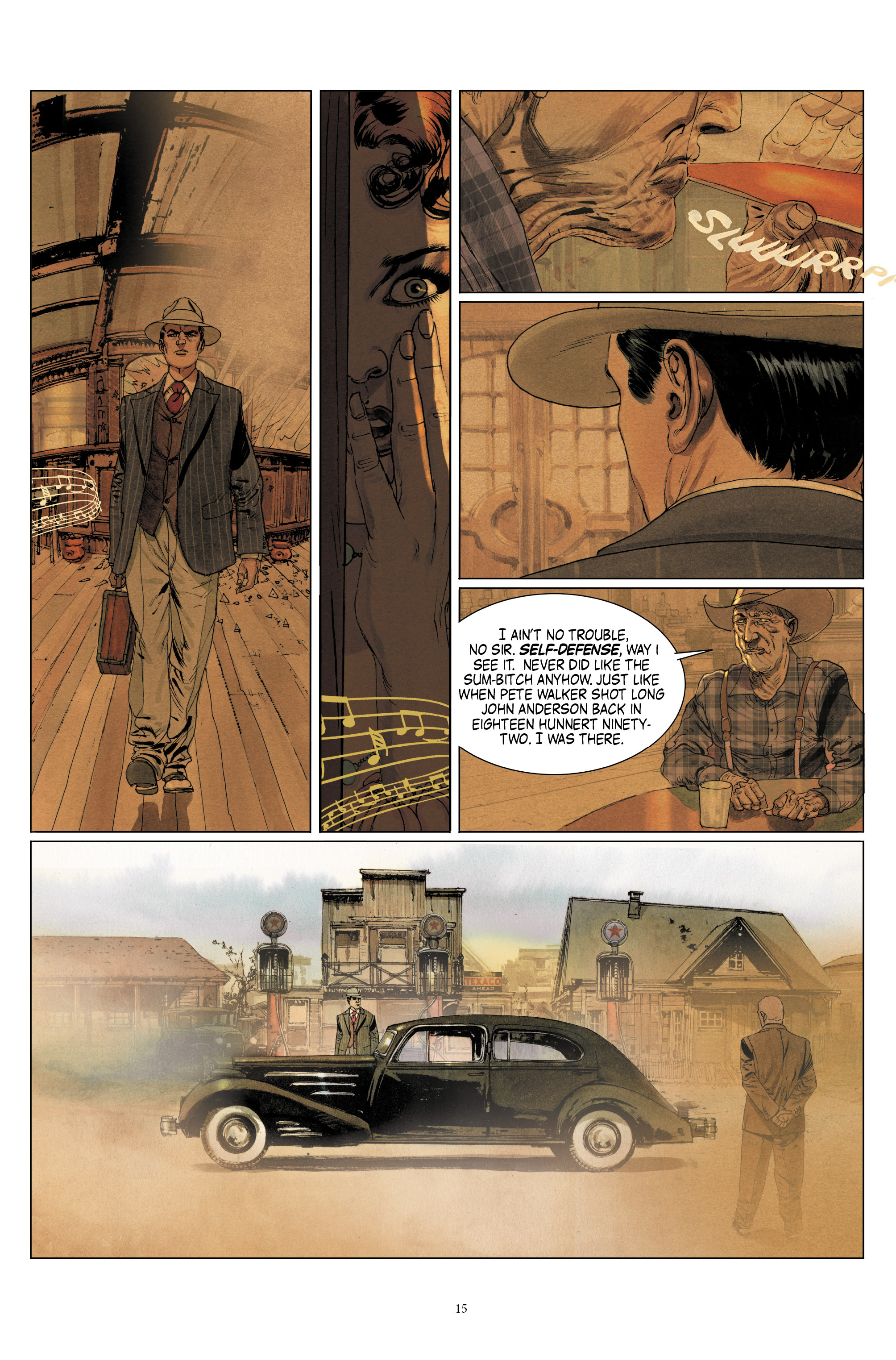 Read online Triggerman comic -  Issue #1 - 20