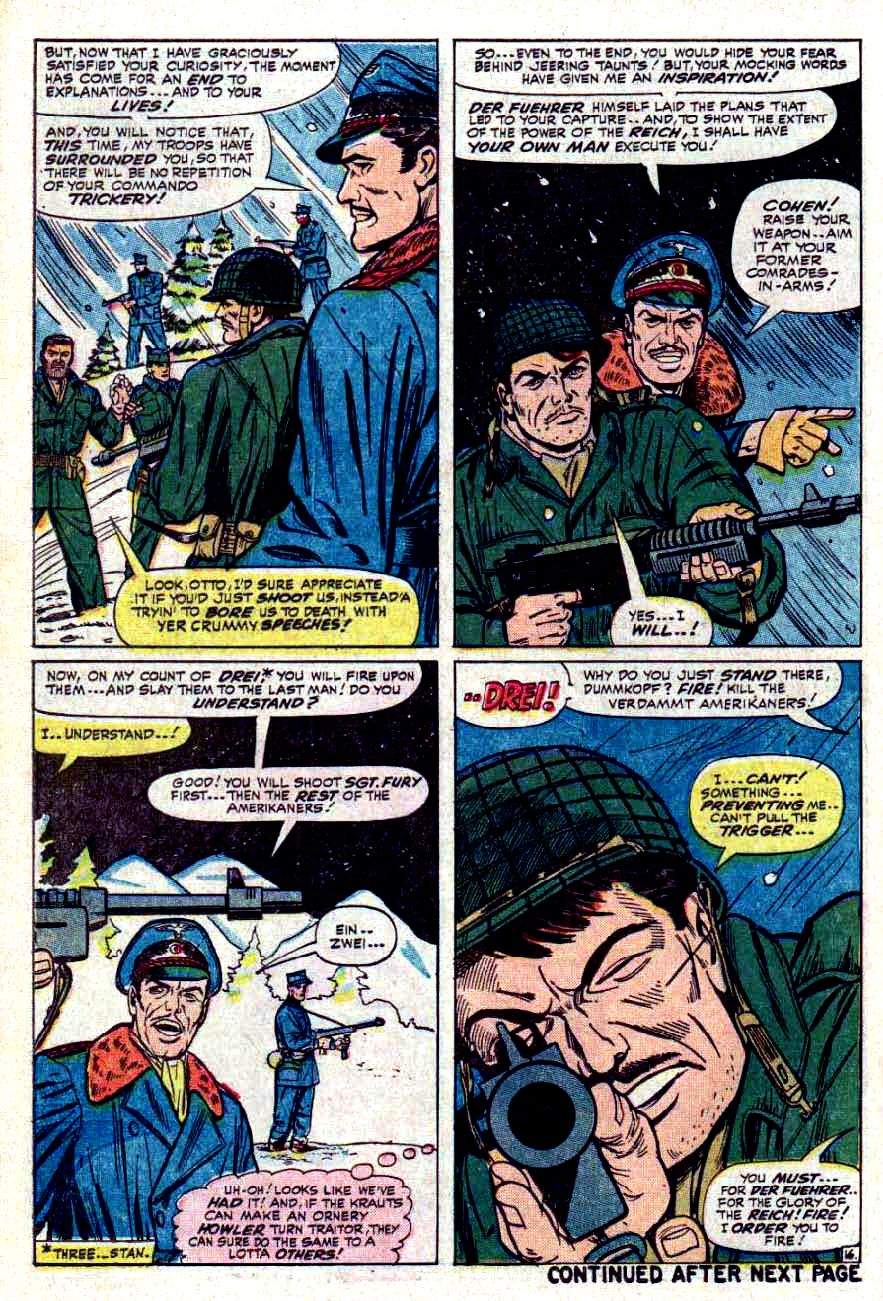 Read online Sgt. Fury comic -  Issue #32 - 22