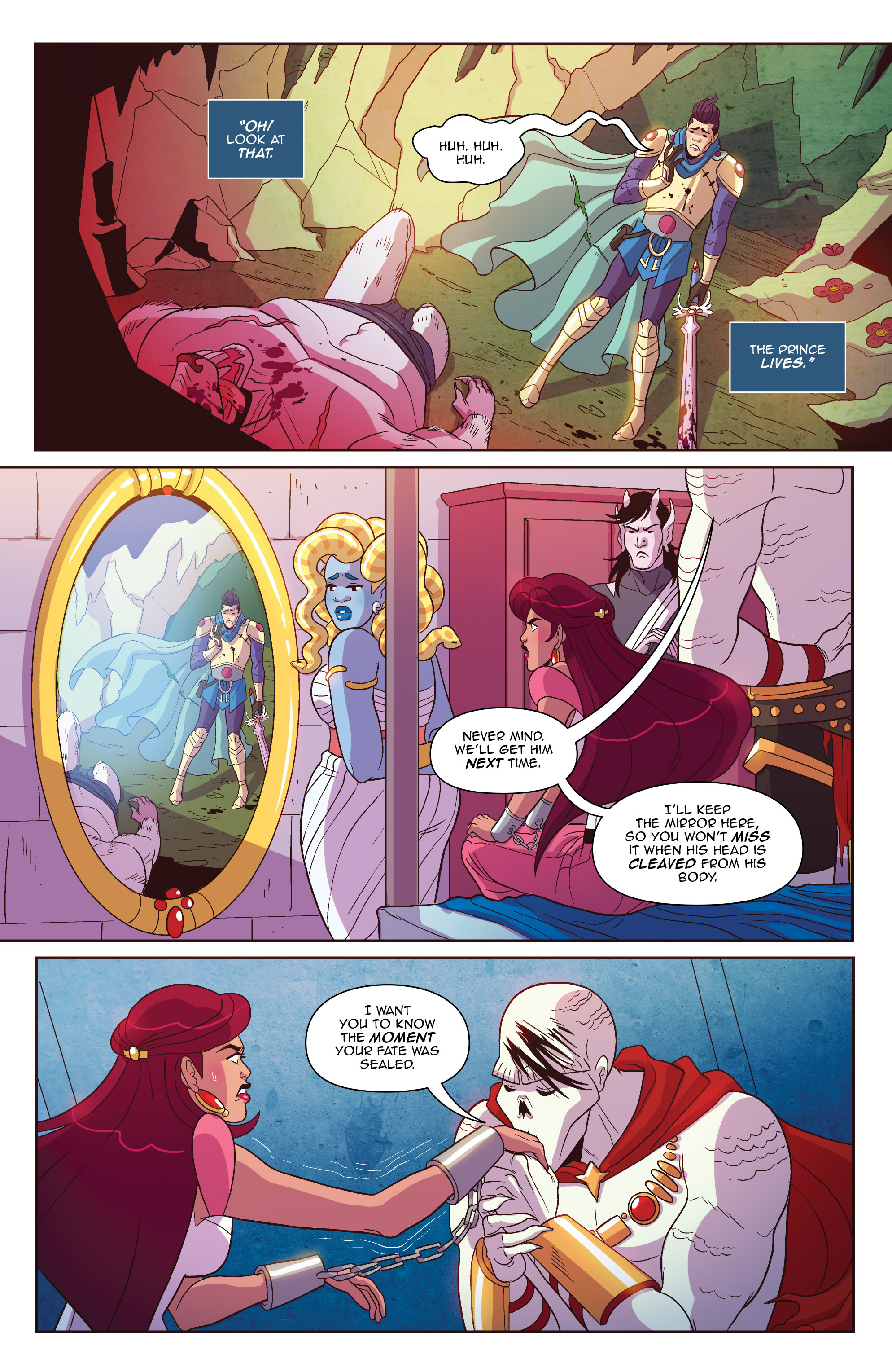 Read online Another Castle comic -  Issue #2 - 5