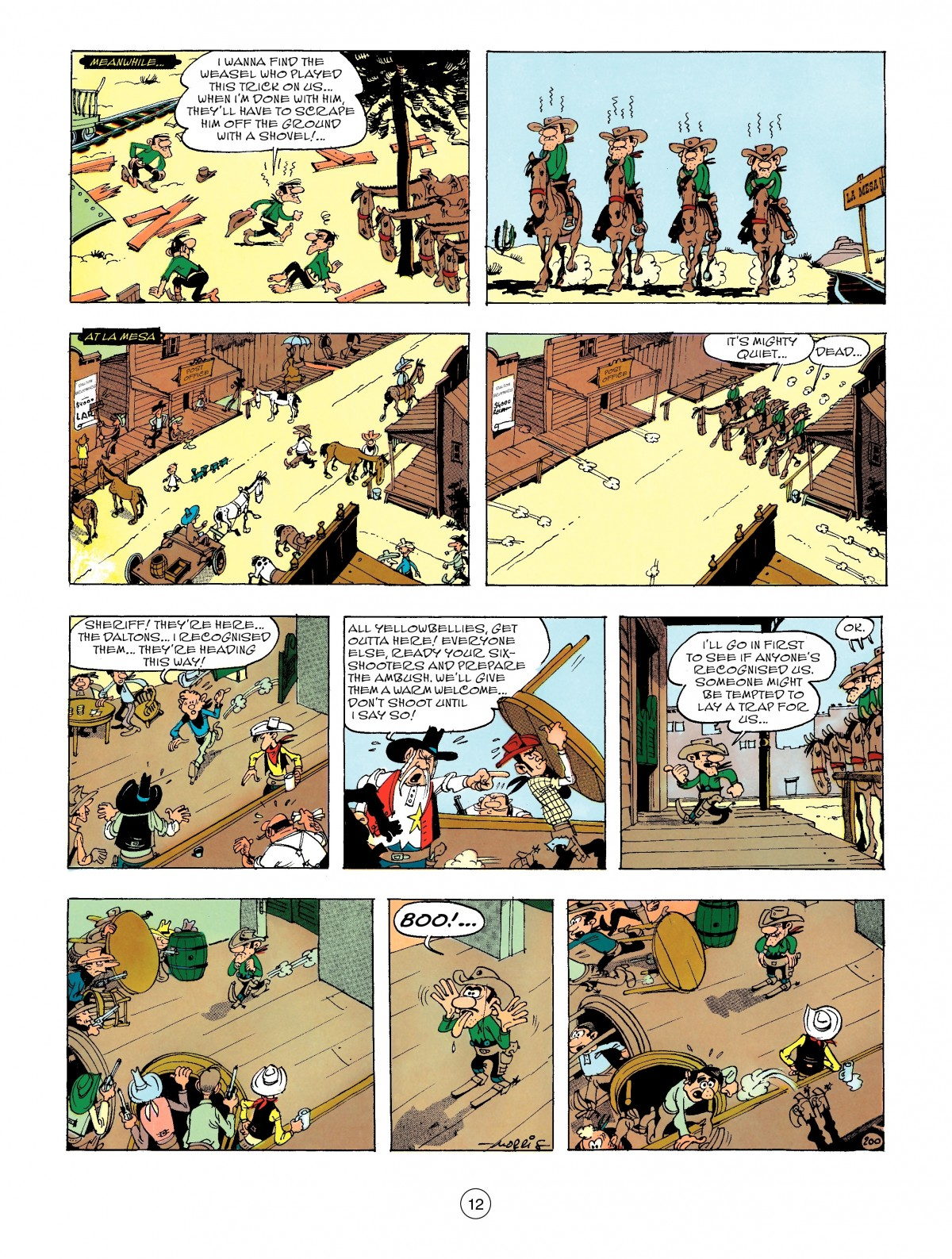 Read online A Lucky Luke Adventure comic -  Issue #47 - 12