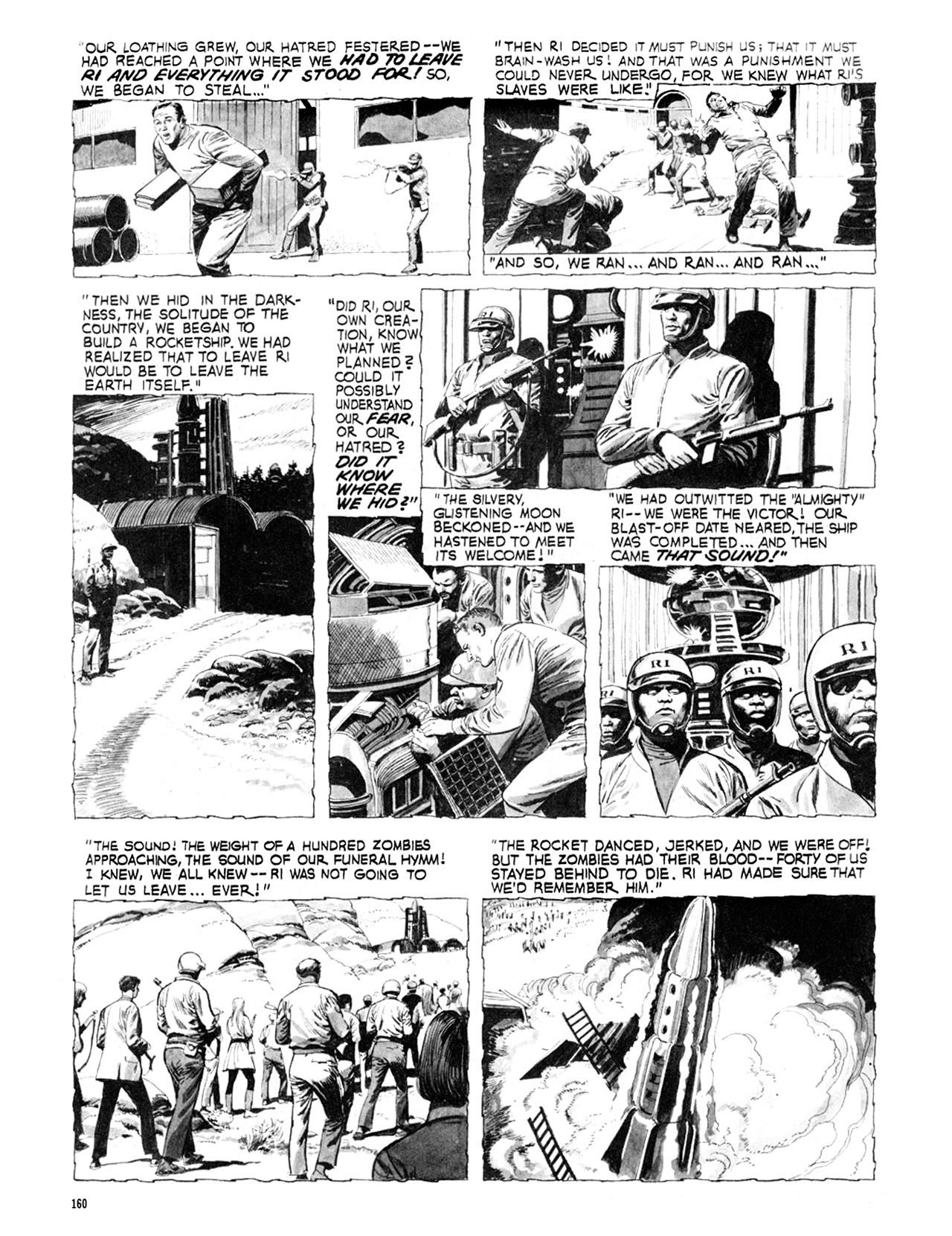 Read online Eerie Archives comic -  Issue # TPB 9 - 161