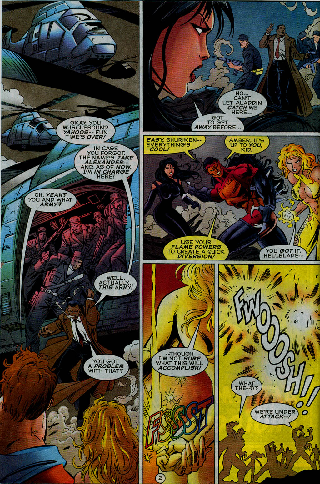 Read online UltraForce (1995) comic -  Issue #13 - 3