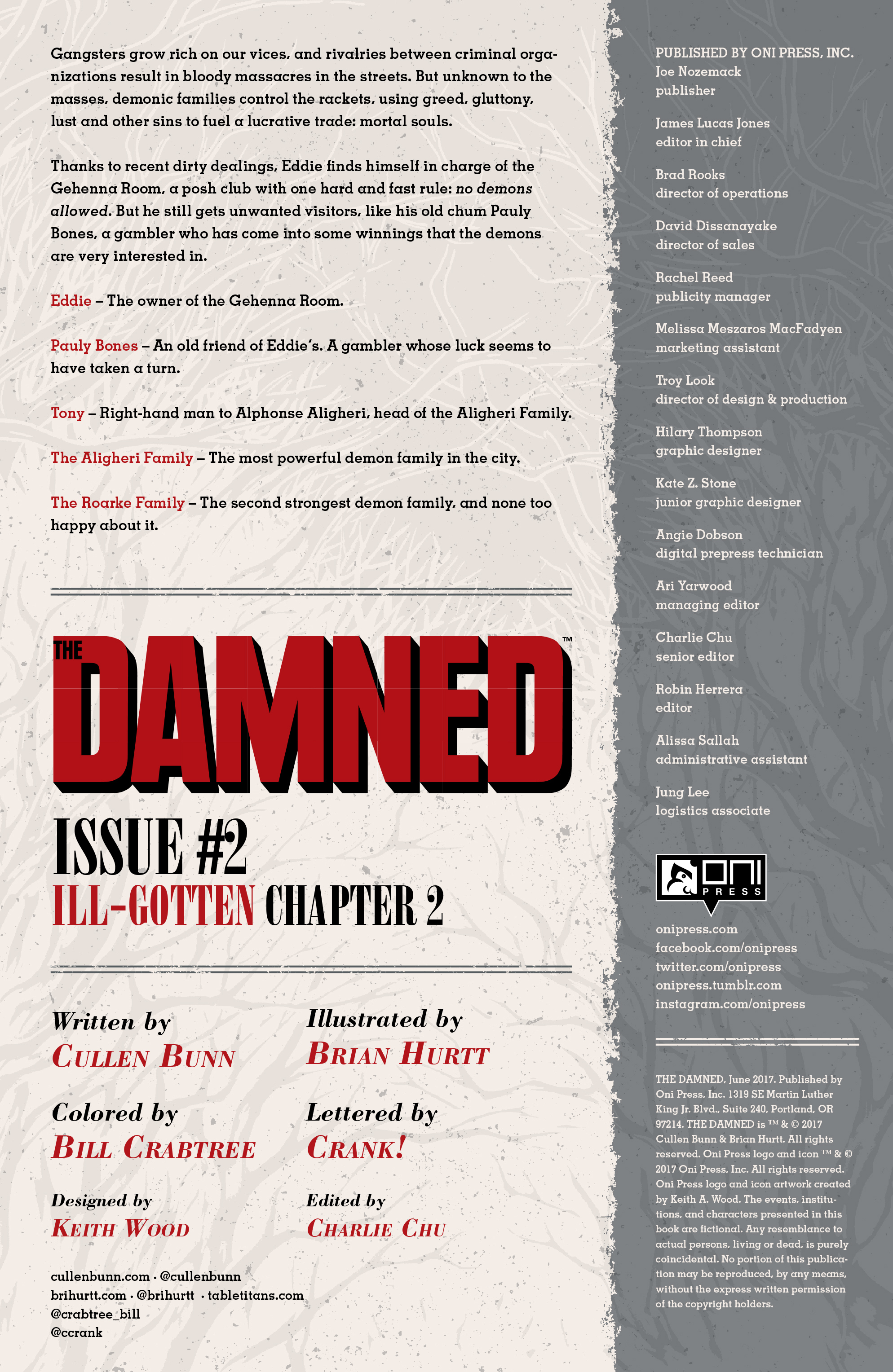 Read online The Damned comic -  Issue #2 - 2