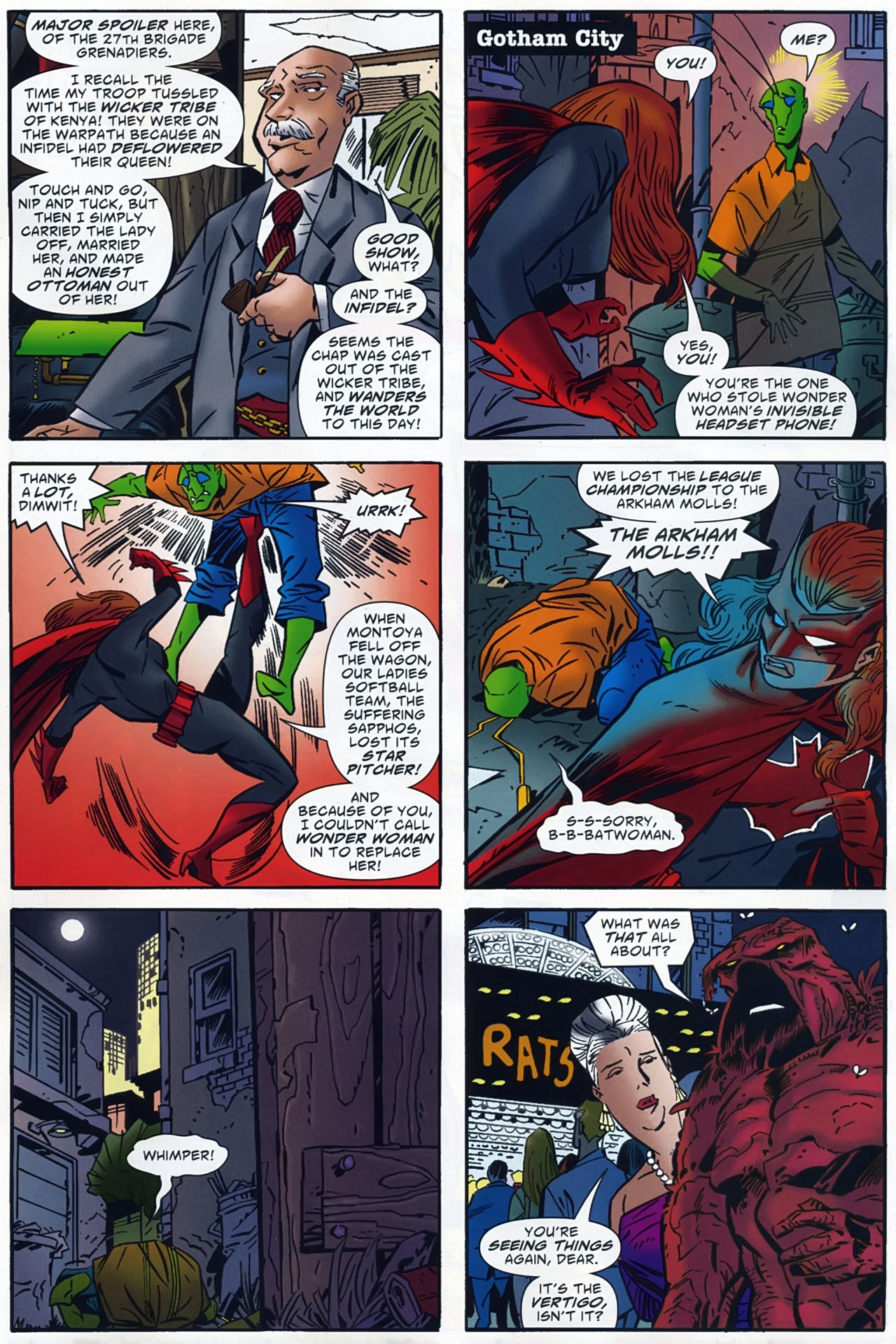 Read online Ambush Bug: Year None comic -  Issue #4 - 19