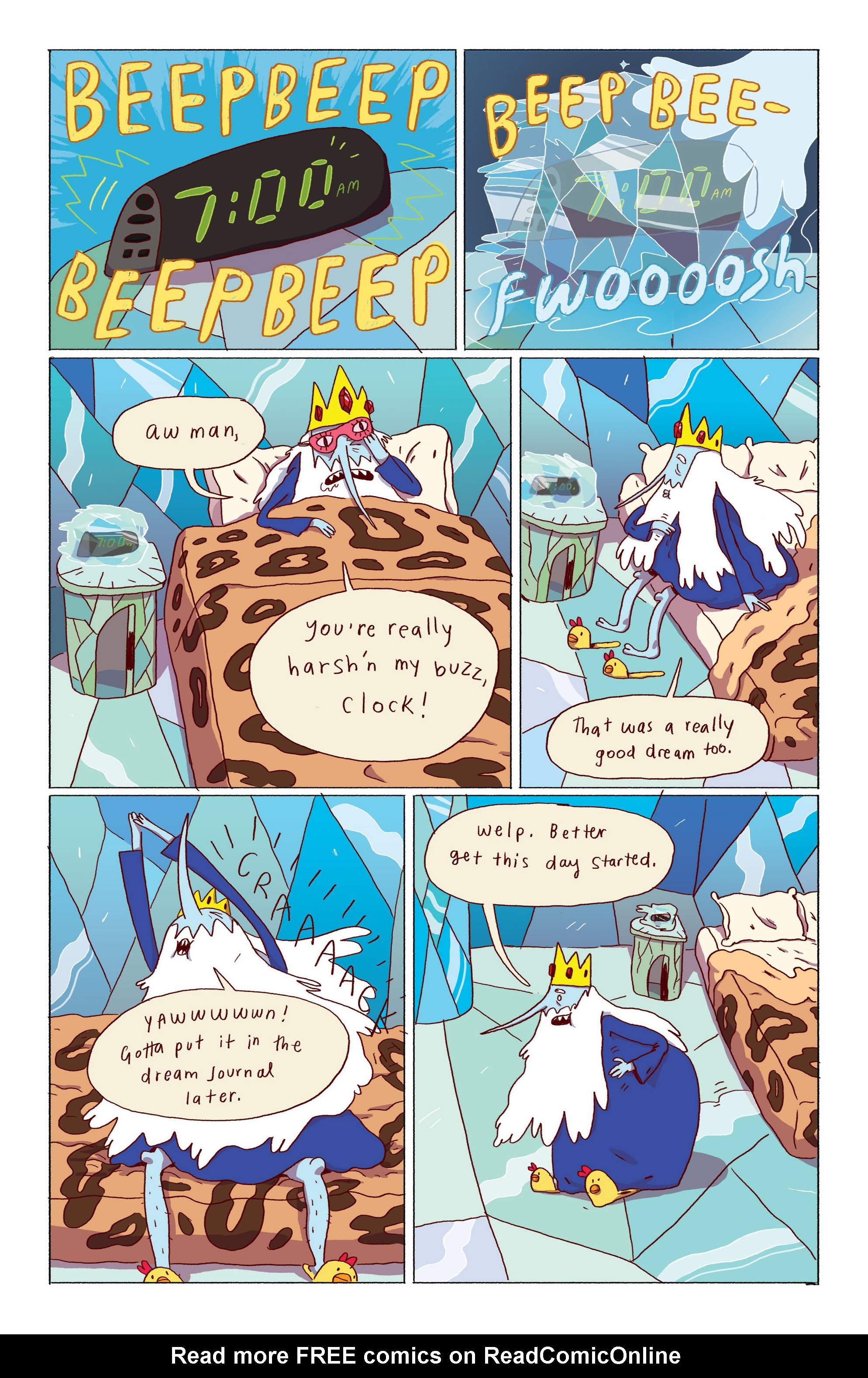 Read online Adventure Time: Ice King comic -  Issue #1 - 4