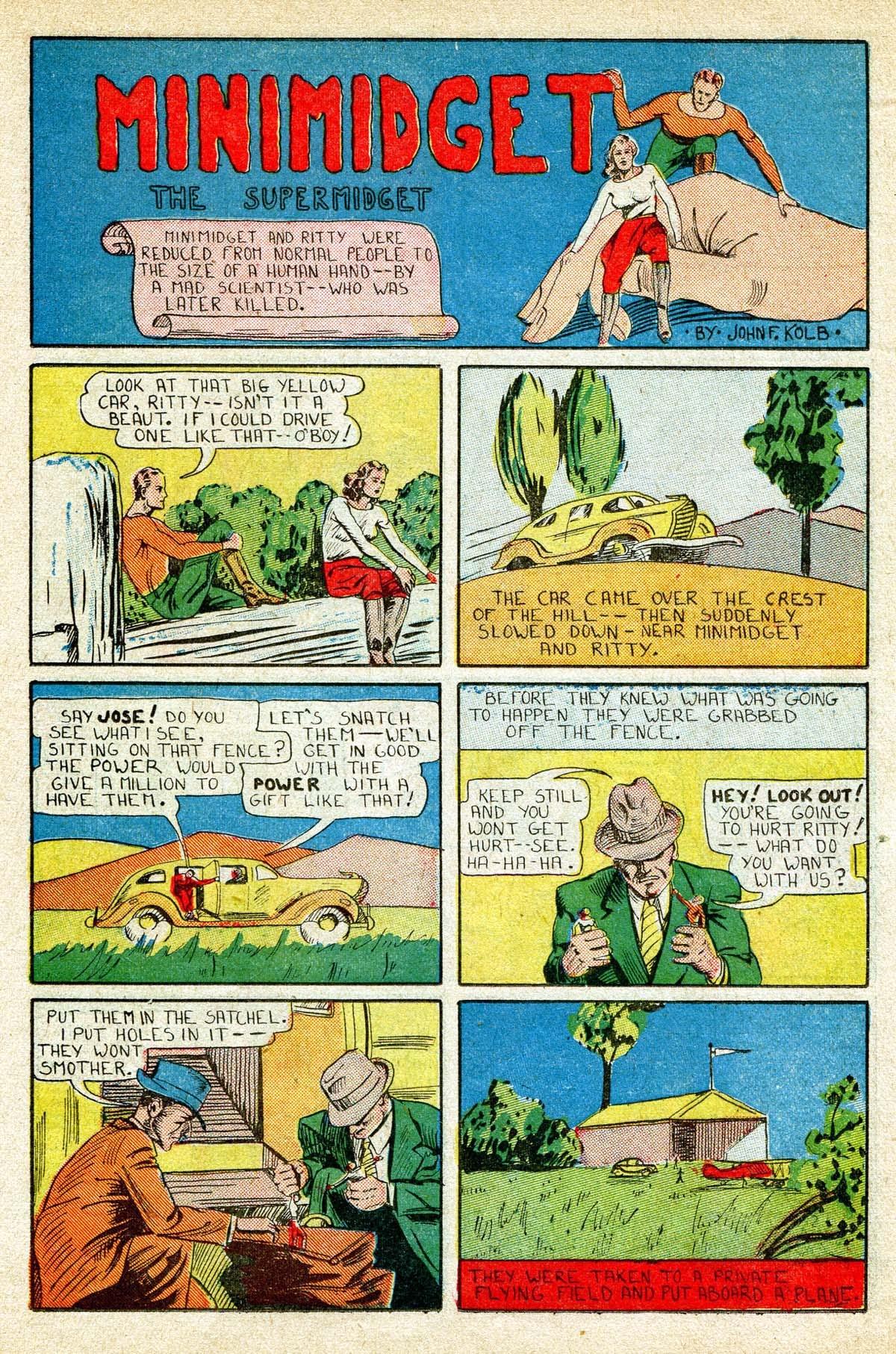 Read online Amazing Man Comics comic -  Issue #8 - 37