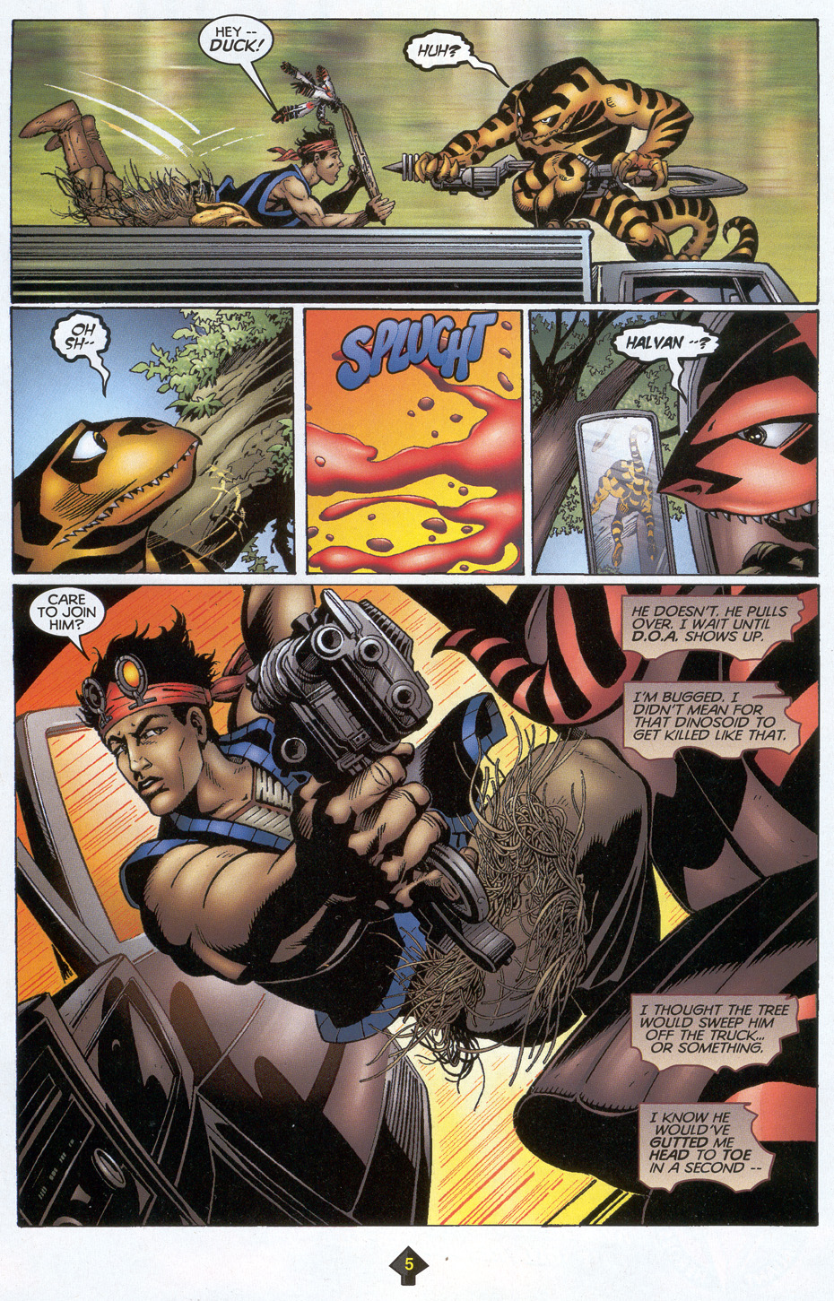 Read online Turok: Redpath comic -  Issue # Full - 6