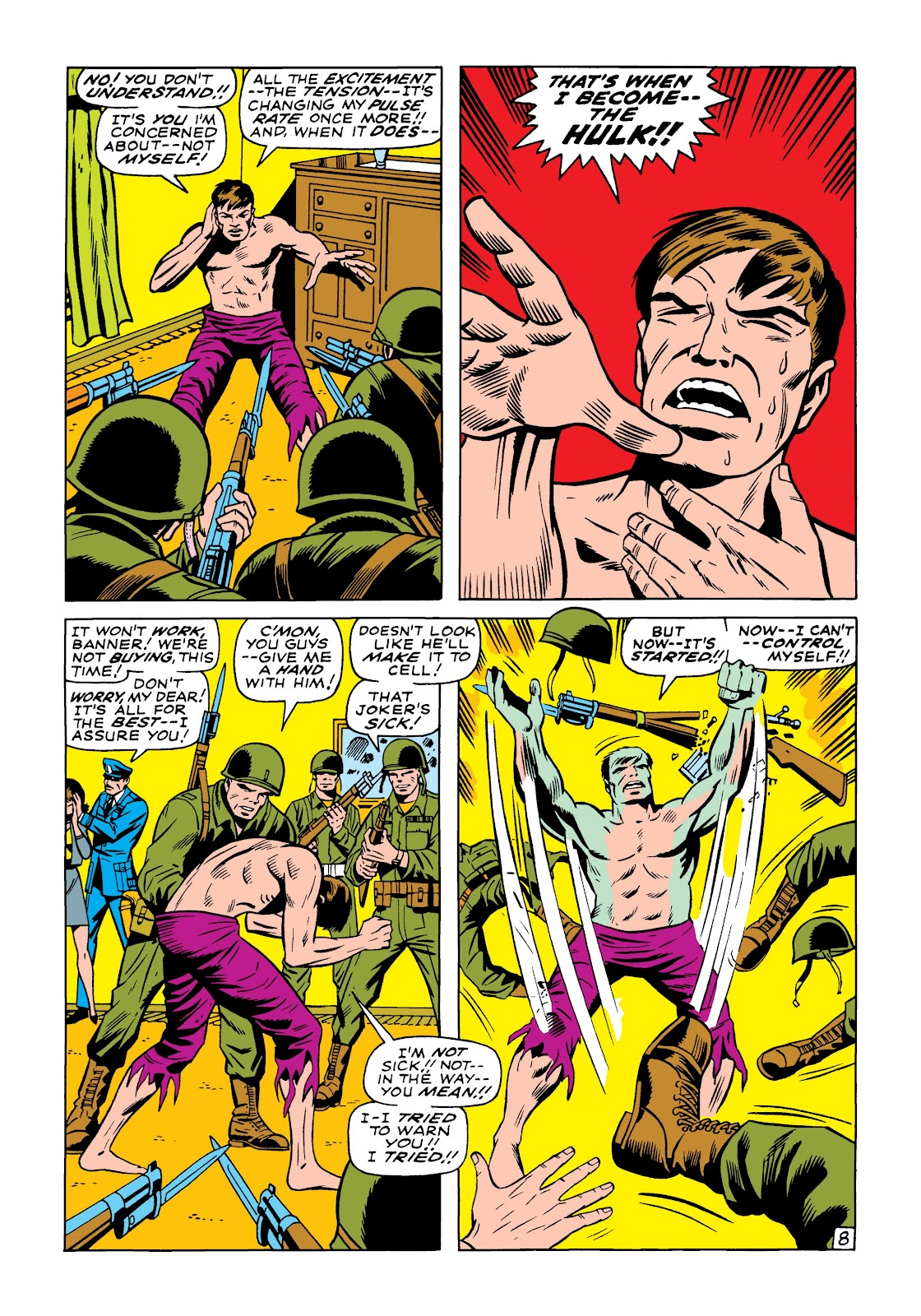 Read online Marvel Masterworks: The Incredible Hulk comic -  Issue # TPB 5 (Part 1) - 77