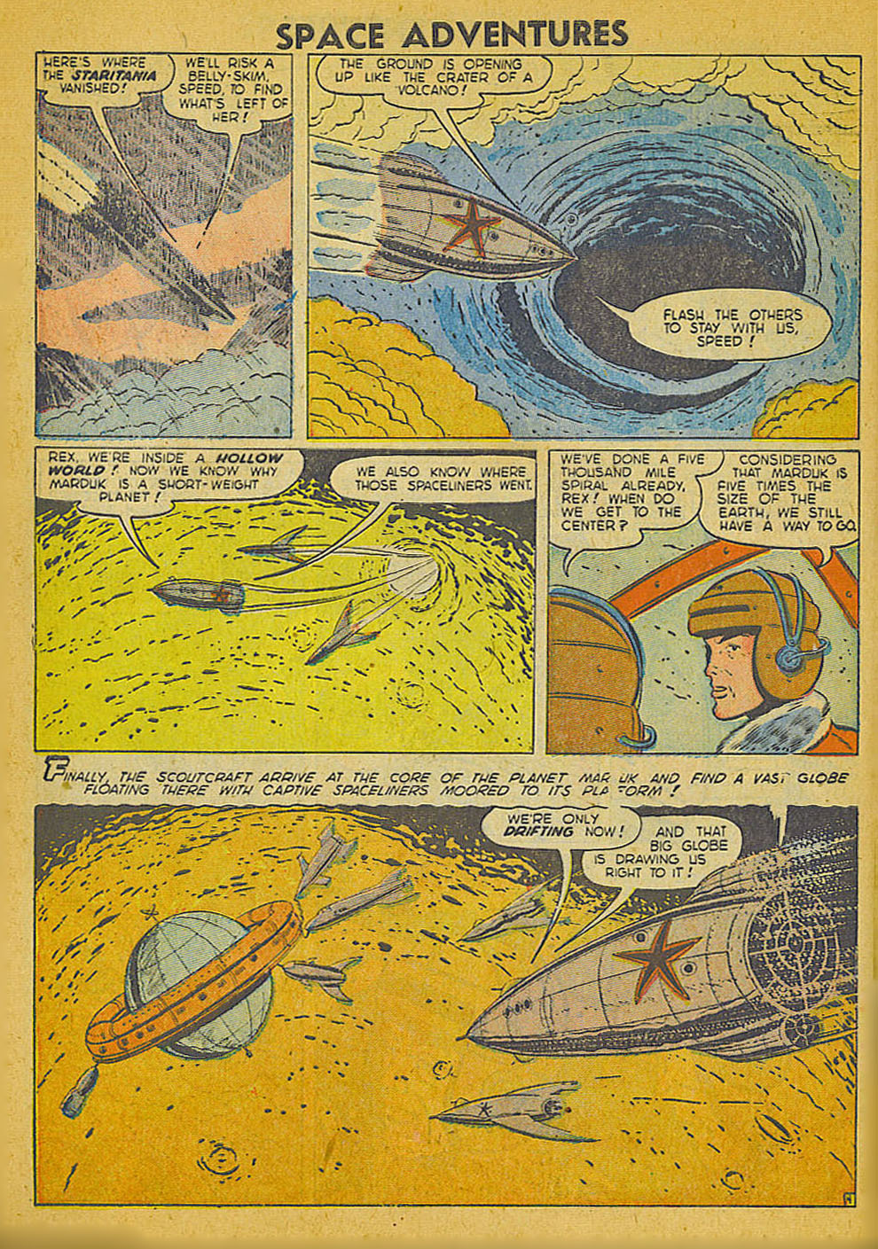 Space Adventures (1952) issue 3 - Page 5