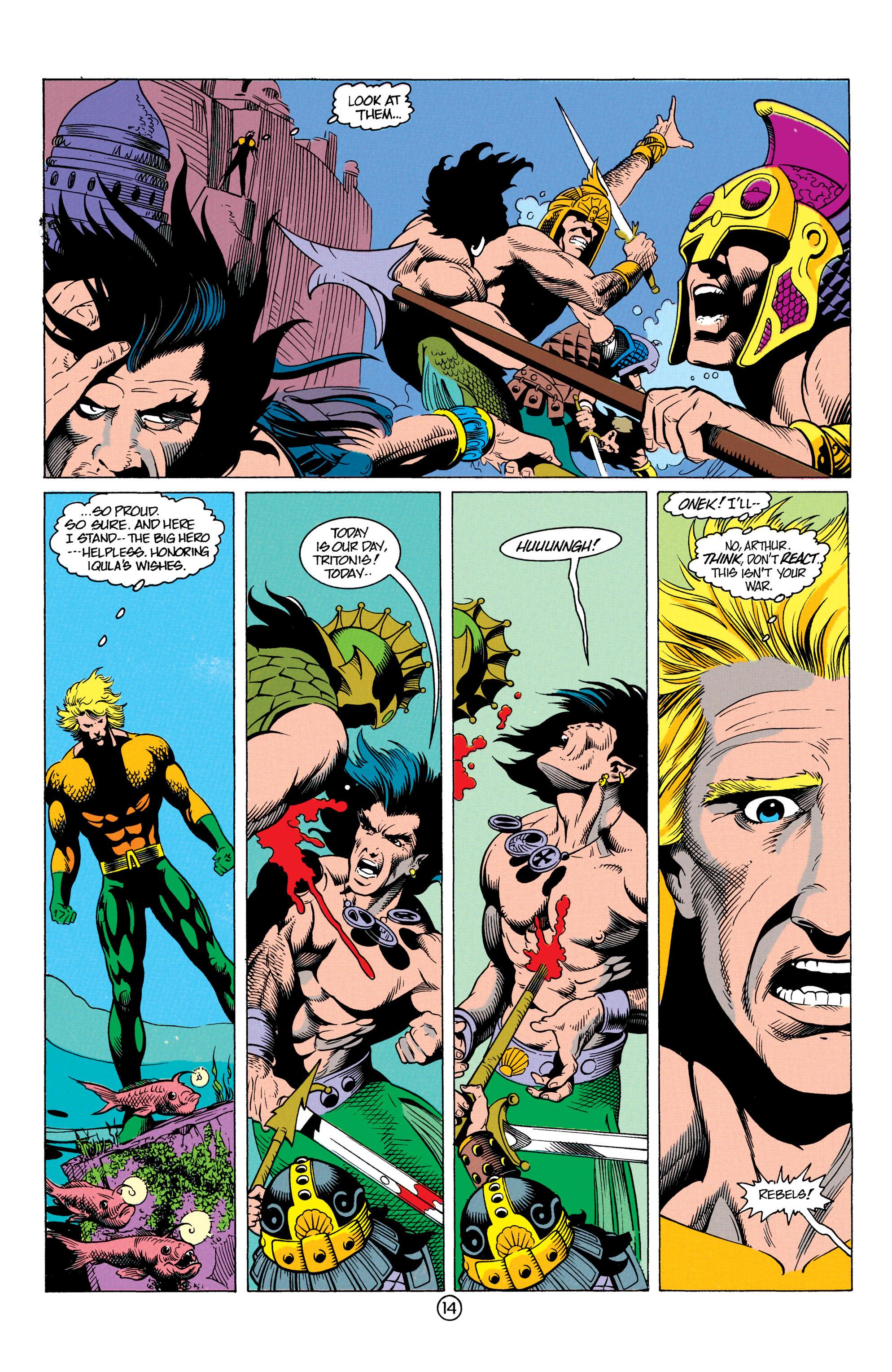 Read online Aquaman (1991) comic -  Issue #12 - 14