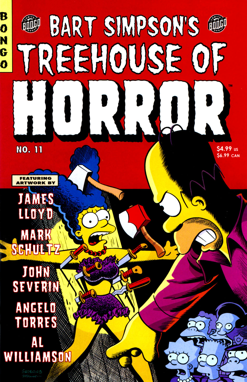 Read online Treehouse of Horror comic -  Issue #11 - 2