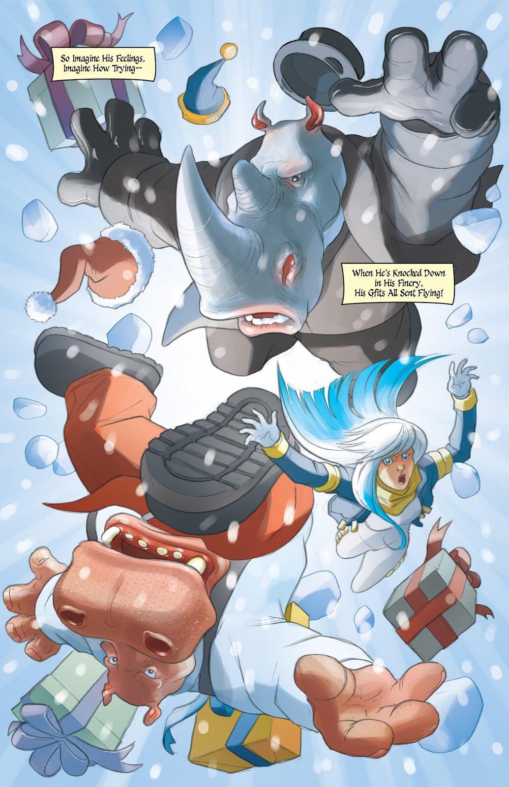 Read online Elephantmen 2261 Season Two: The Pentalion Job comic -  Issue # TPB - 108