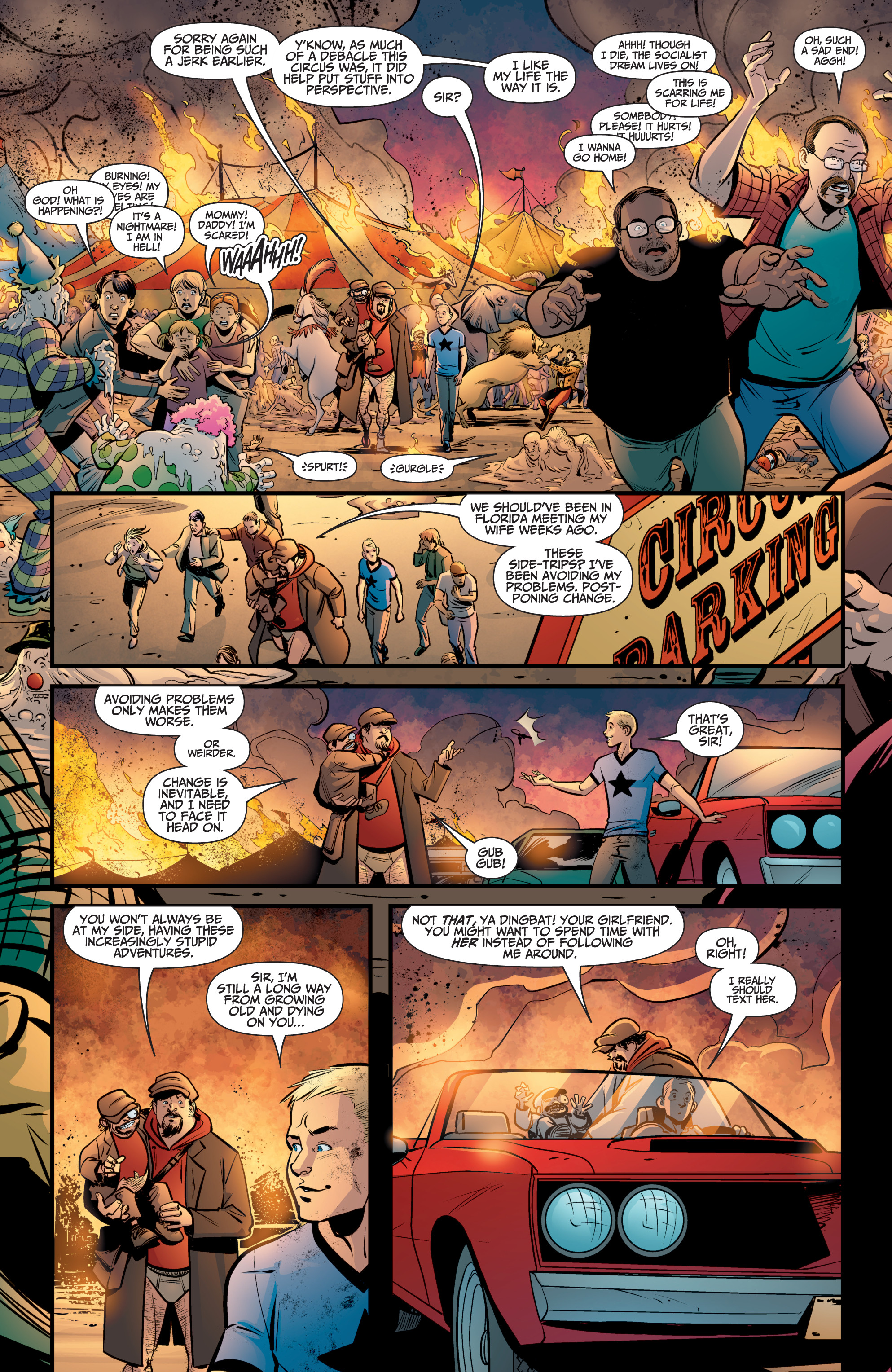 Read online A&A: The Adventures of Archer & Armstrong comic -  Issue #8 - 16