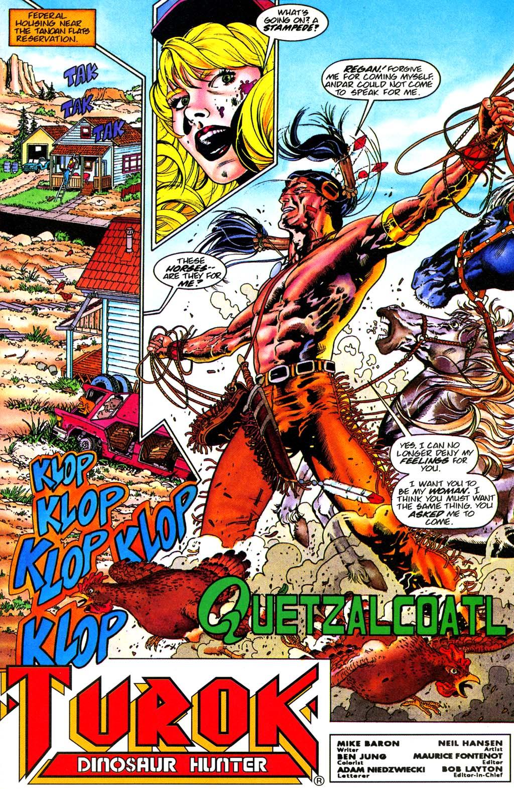 Read online Turok, Dinosaur Hunter (1993) comic -  Issue #28 - 2