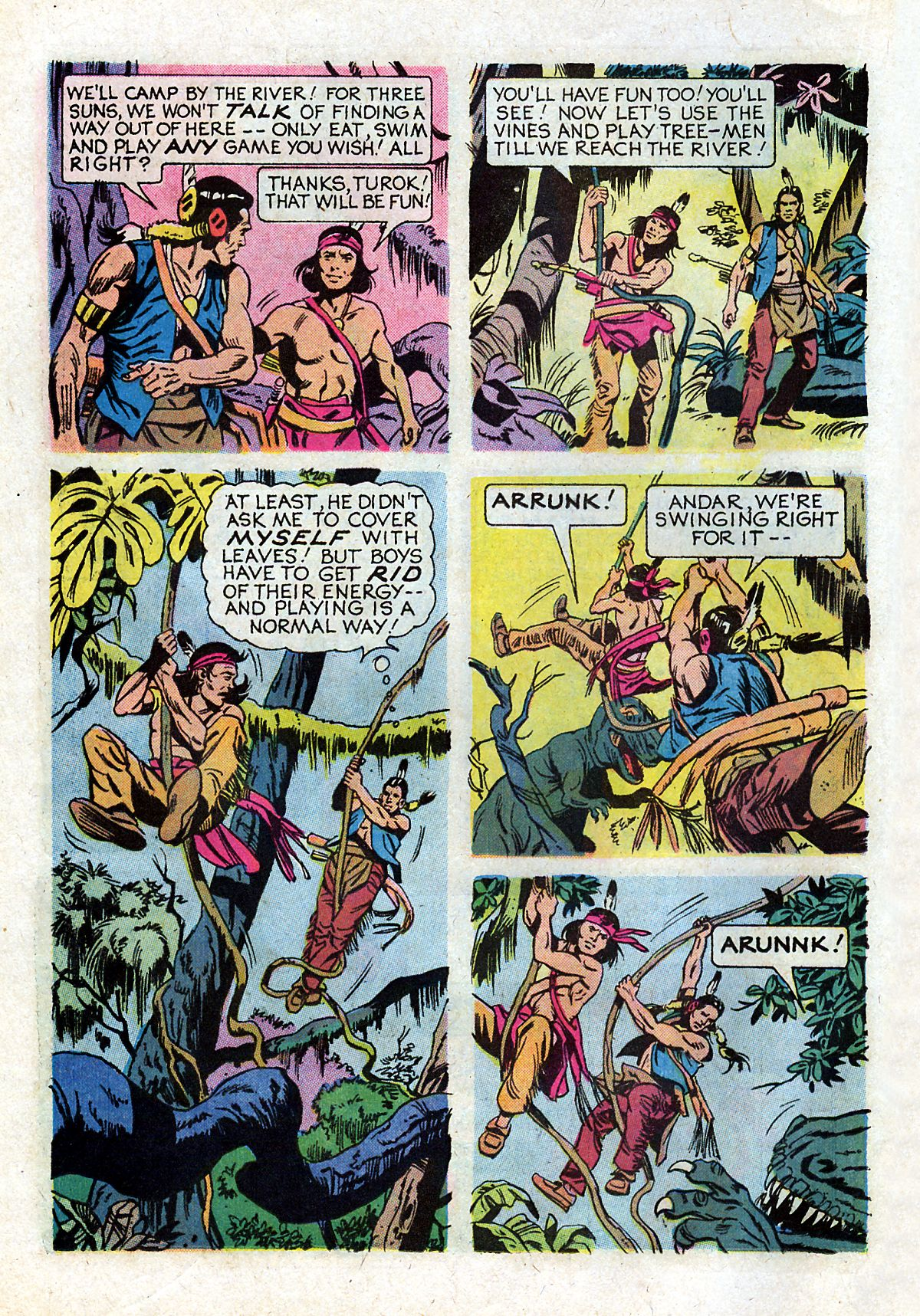 Read online Turok, Son of Stone comic -  Issue #93 - 22