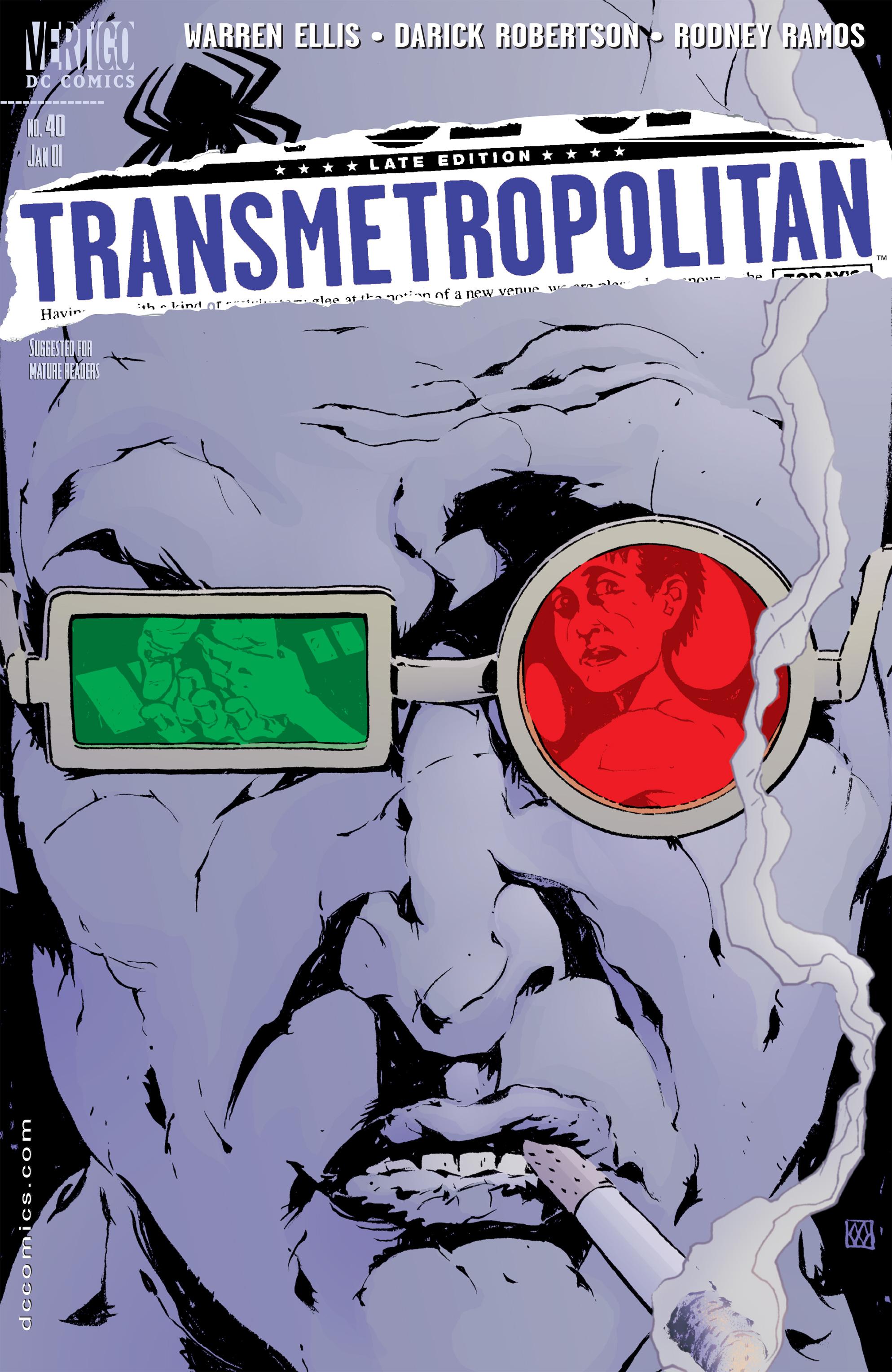 Read online Transmetropolitan comic -  Issue #40 - 1