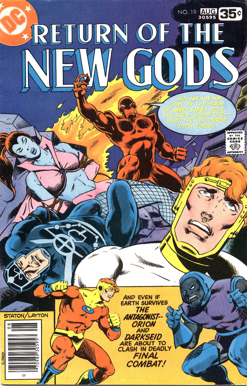 New Gods (1977) issue 19 - Page 1