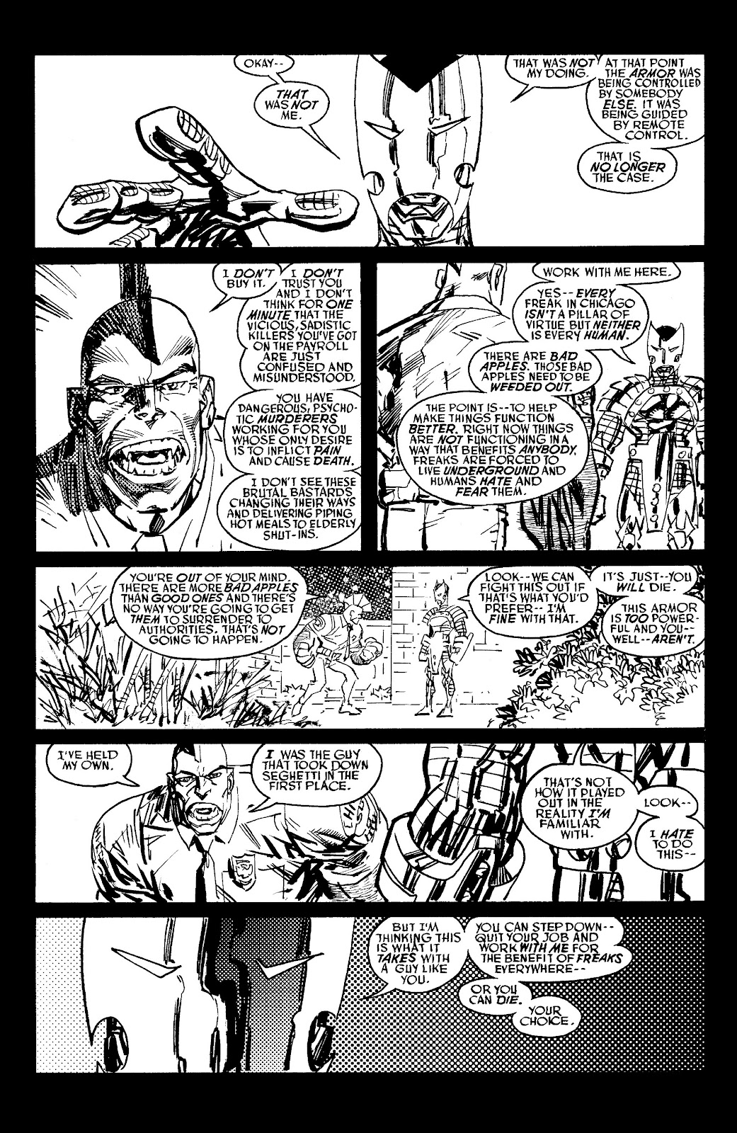 Read online Savage Dragon Archives comic -  Issue # TPB 6 (Part 6) - 5