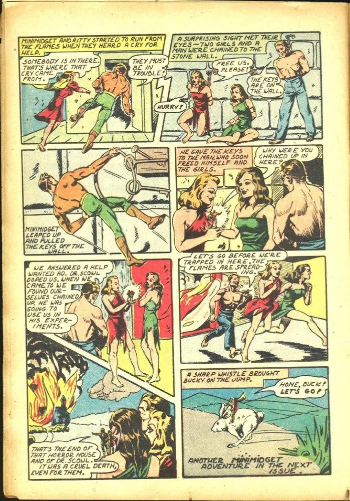 Read online Amazing Man Comics comic -  Issue #25 - 22