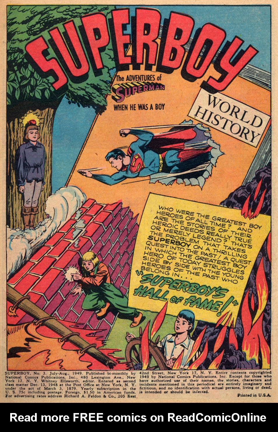 Superboy (1949) issue 3 - Page 2