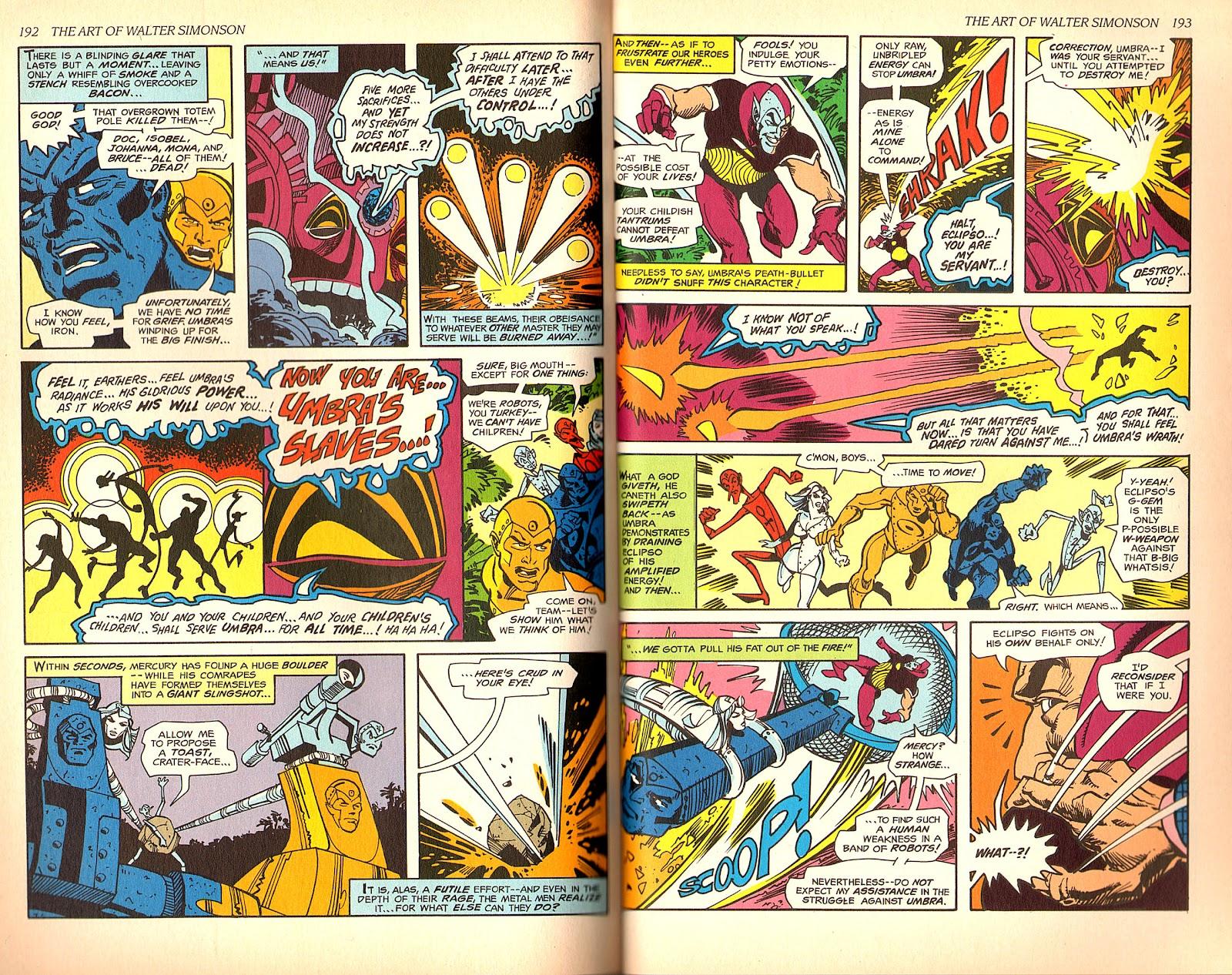 Read online The Art of Walter Simonson comic -  Issue # TPB - 98