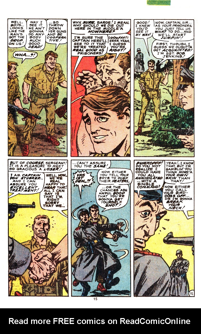 Read online Sgt. Fury comic -  Issue #164 - 17