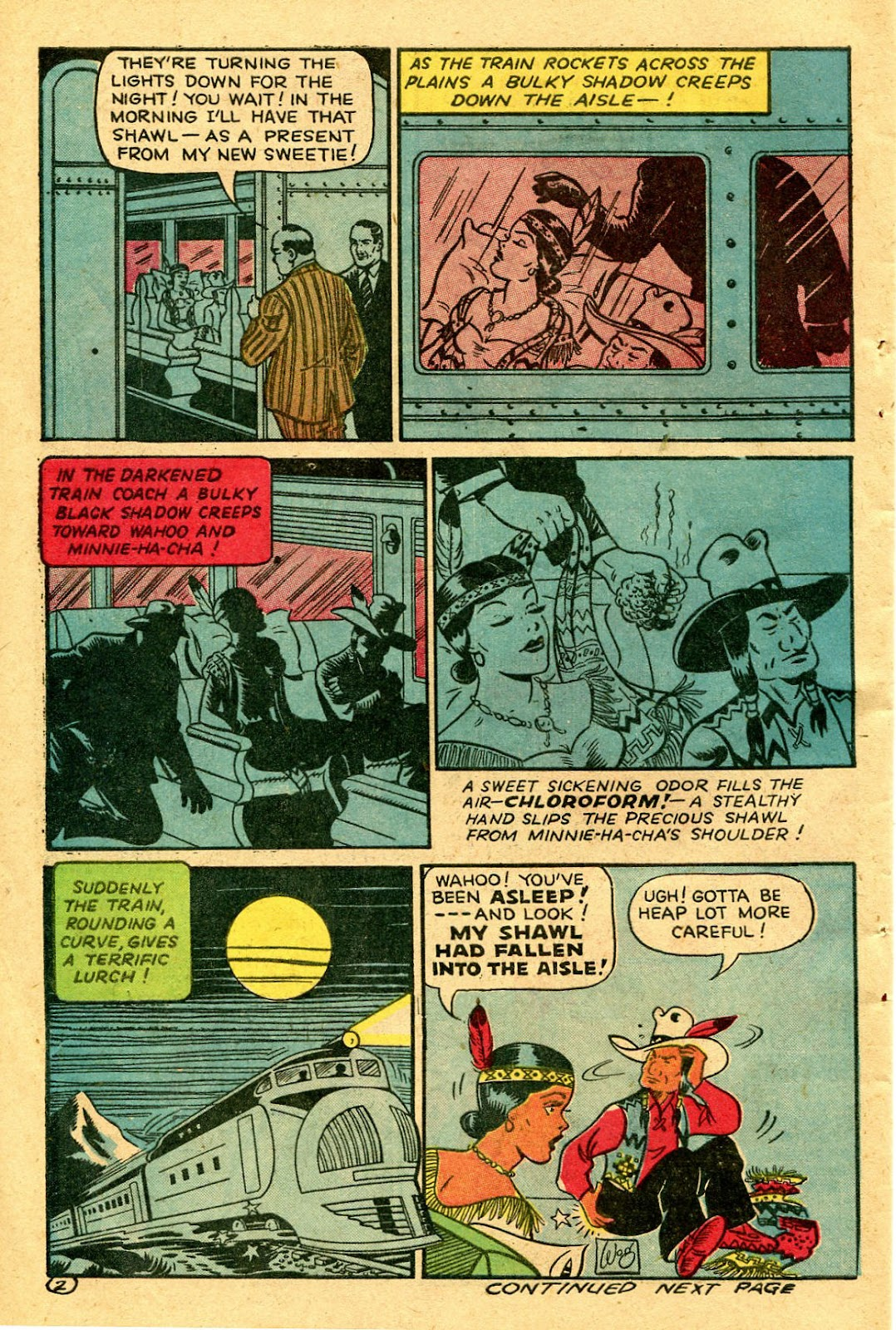 Read online Famous Funnies comic -  Issue #130 - 42