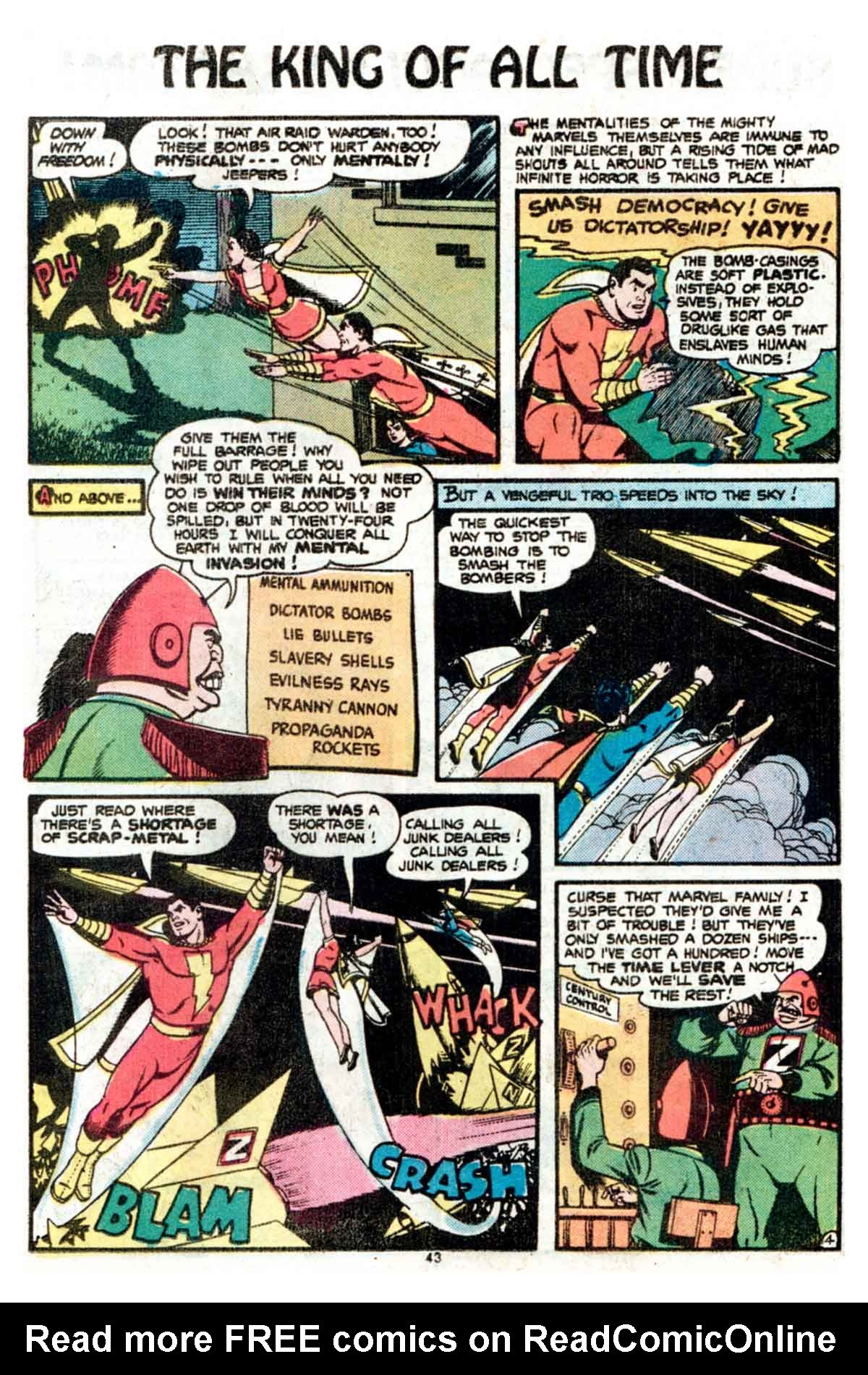 Read online Shazam! (1973) comic -  Issue #15 - 43