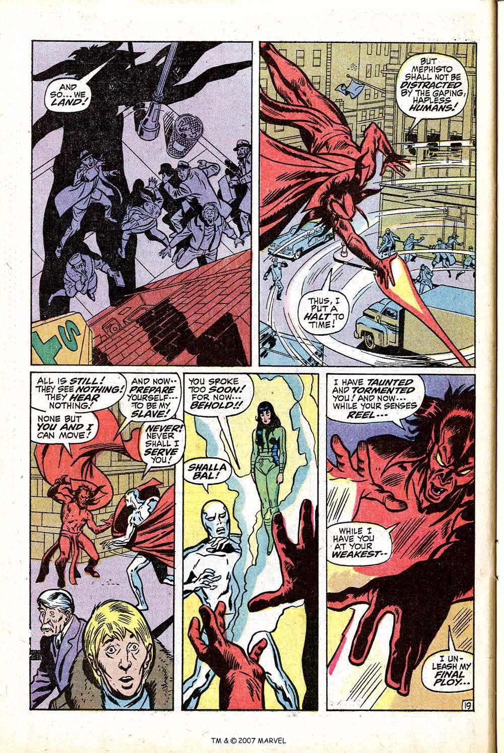 Read online Silver Surfer (1968) comic -  Issue #16 - 28