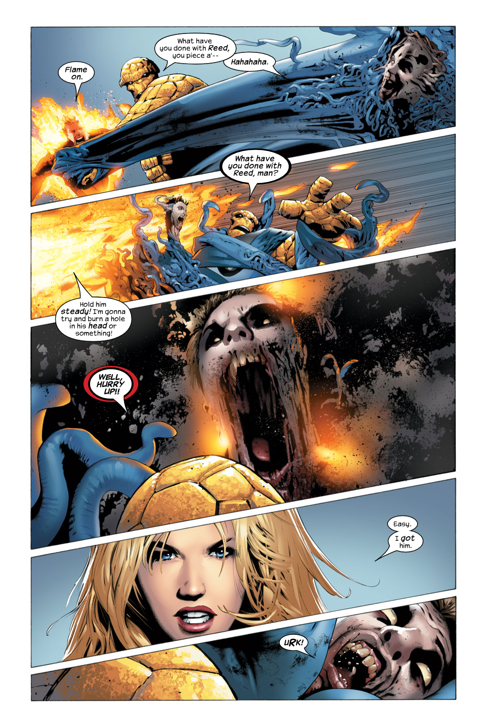 Read online Ultimate Fantastic Four (2004) comic -  Issue #23 - 5