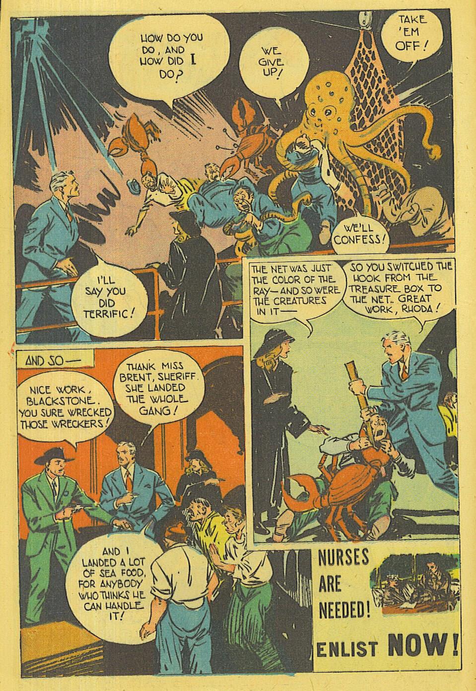 Read online Super-Magician Comics comic -  Issue #42 - 15