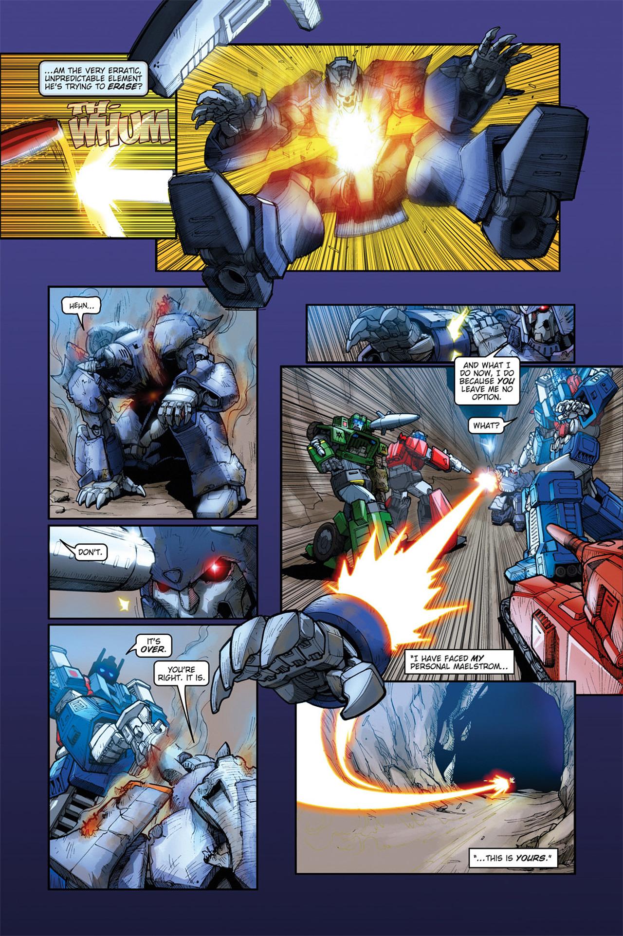 Read online Transformers Spotlight: Cyclonus comic -  Issue # Full - 23