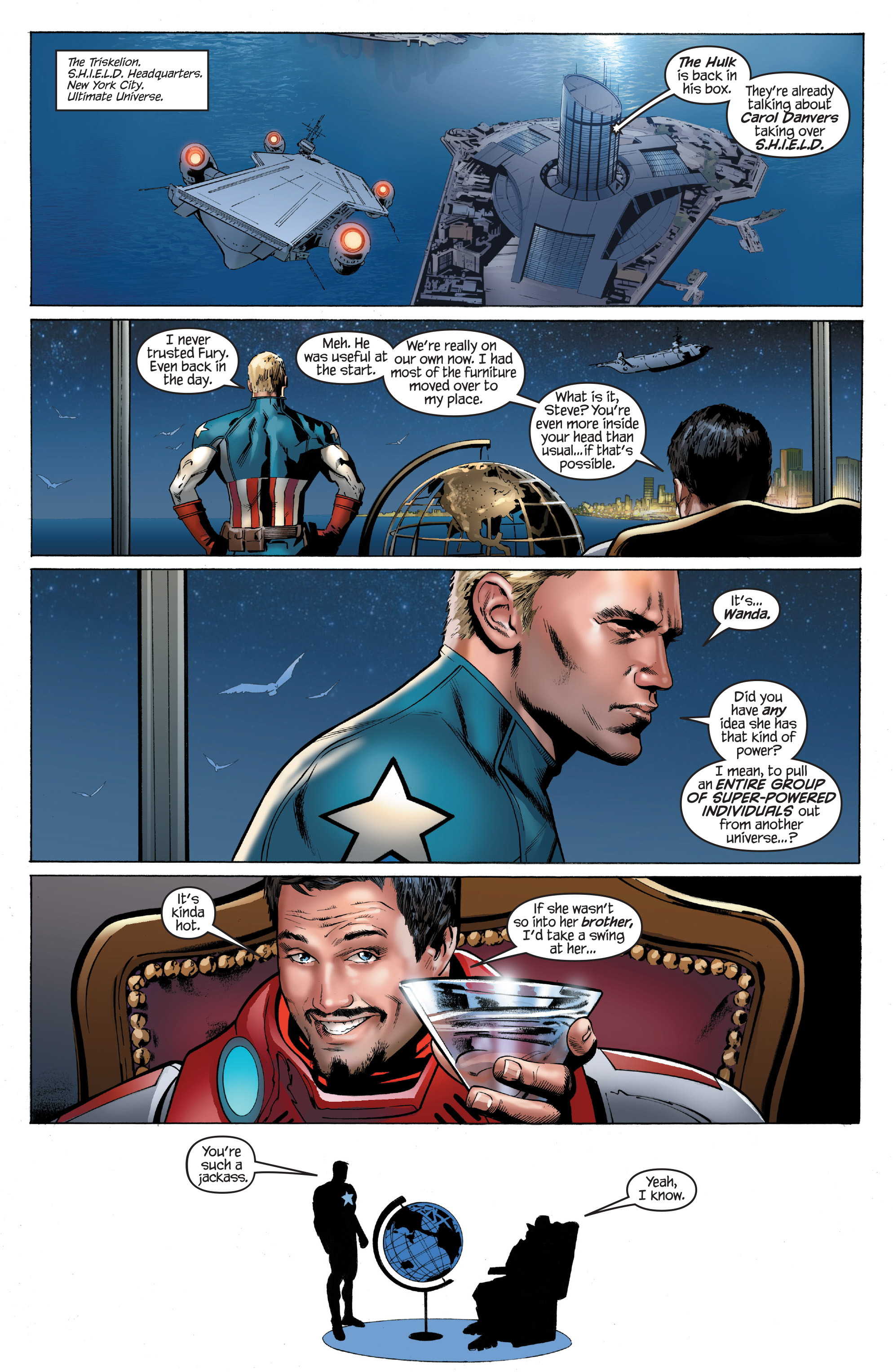 Read online Ultimate Power comic -  Issue #9 - 20