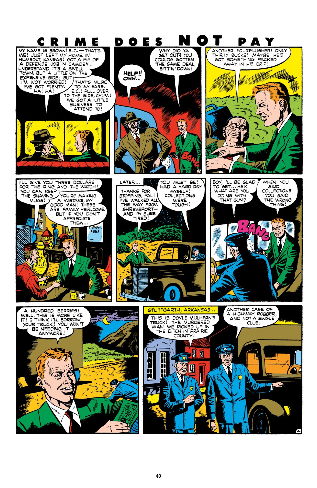 Read online Crime Does Not Pay Archives comic -  Issue # TPB 8 (Part 1) - 42