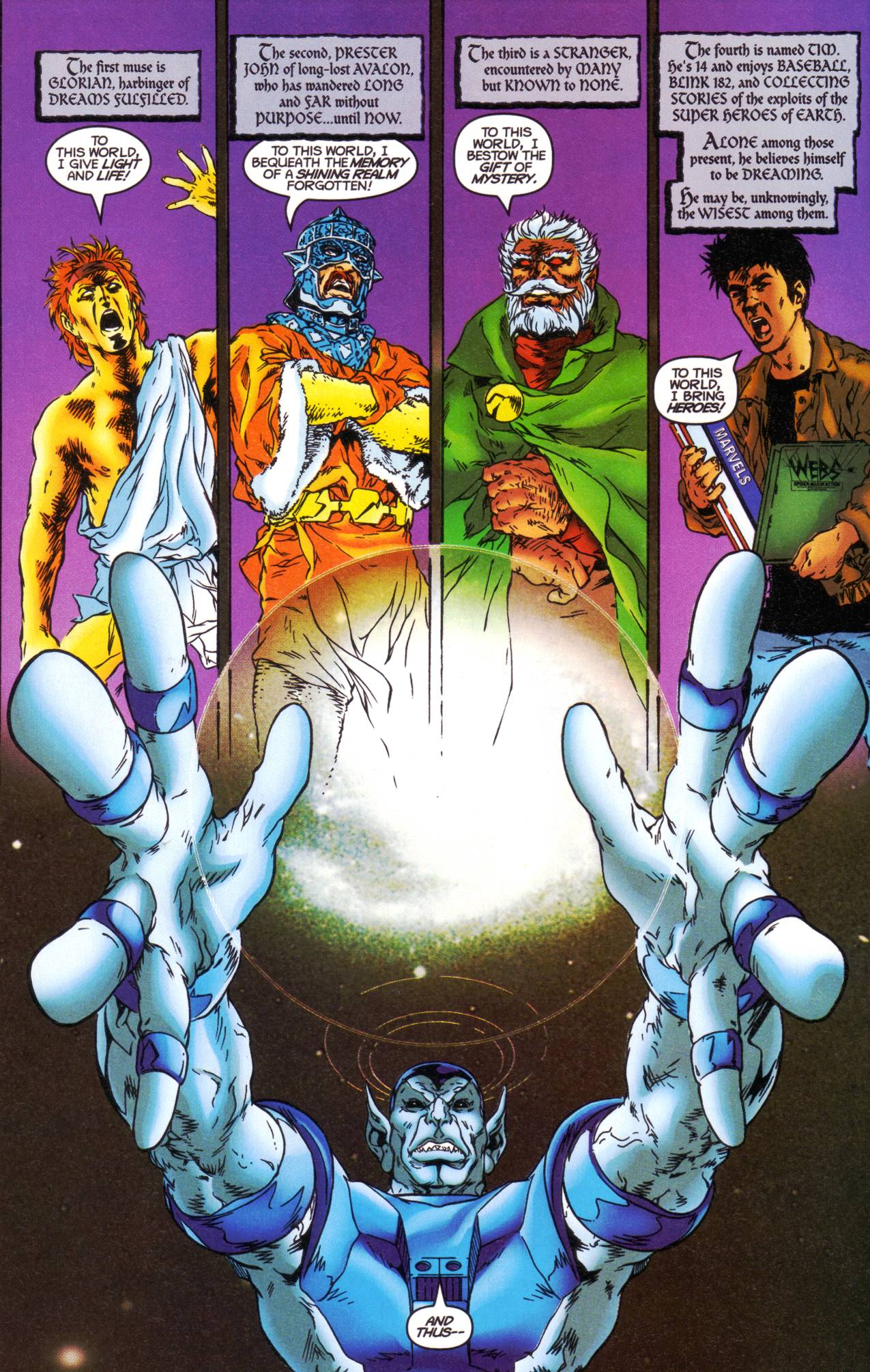 Read online Avataars: Covenant of the Shield comic -  Issue #1 - 5