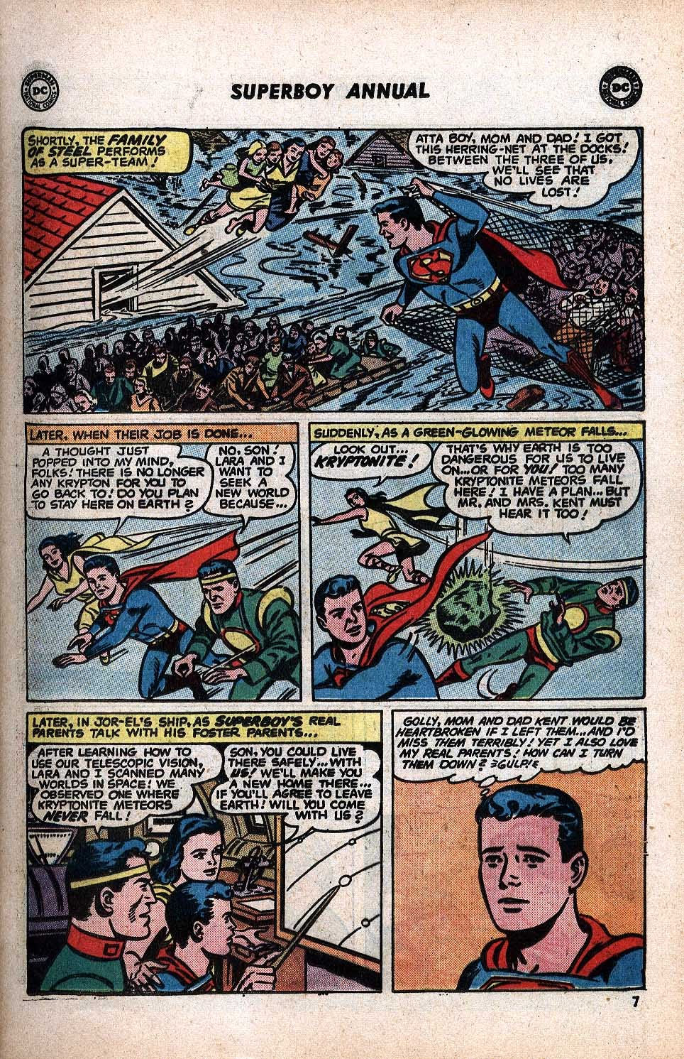 Superboy (1949) issue Annual 1 - Page 9
