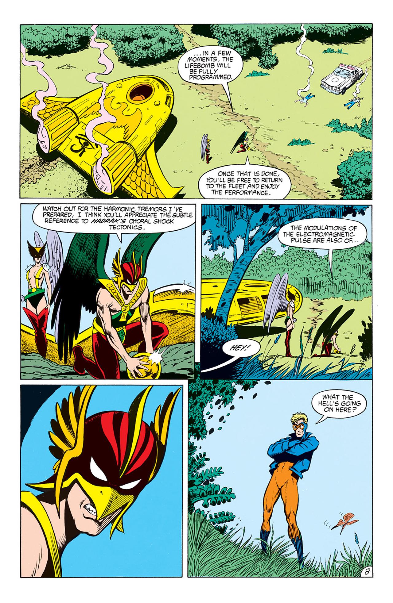 Read online Animal Man (1988) comic -  Issue #6 - 10