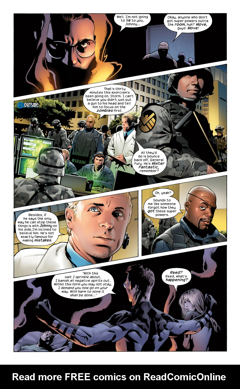 Read online Ultimate Fantastic Four (2004) comic -  Issue #32 - 9