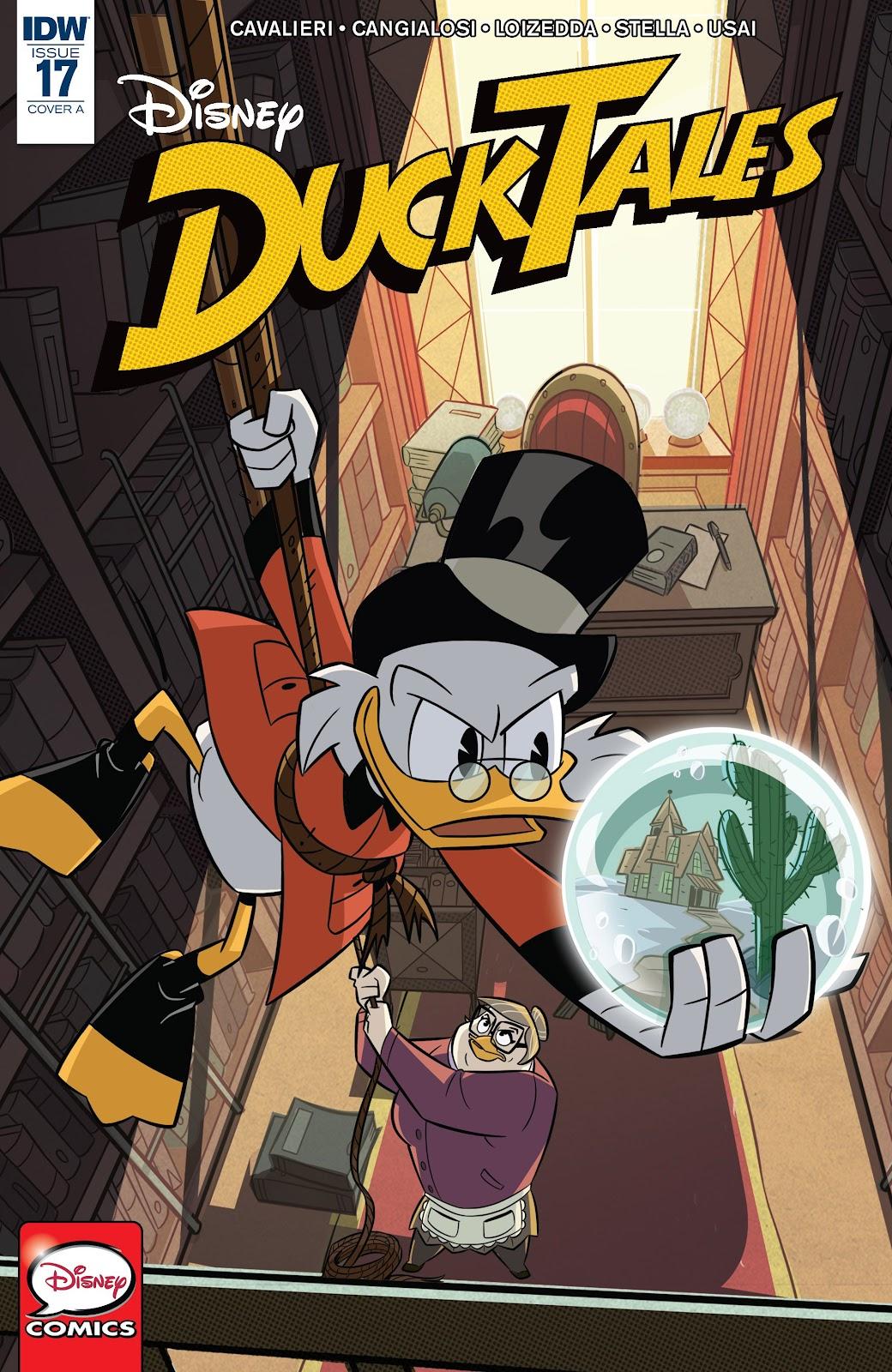 Read online Ducktales (2017) comic -  Issue #17 - 1