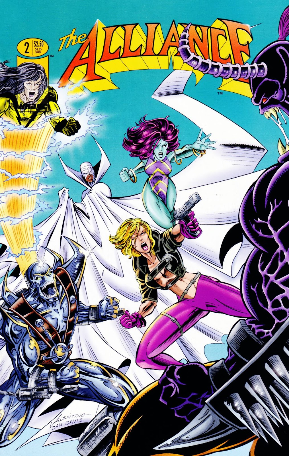 Read online The Alliance comic -  Issue #2 - 1