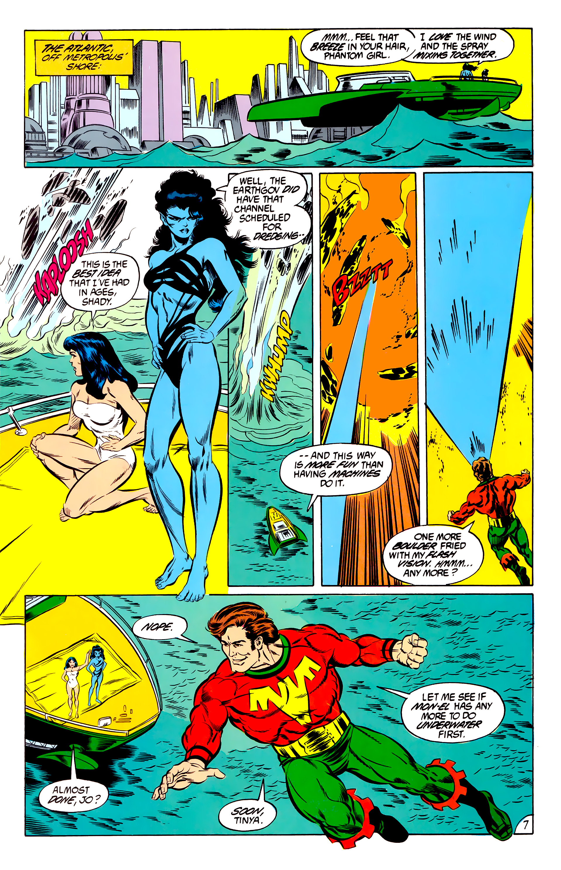 Legion of Super-Heroes (1984) 46 Page 7