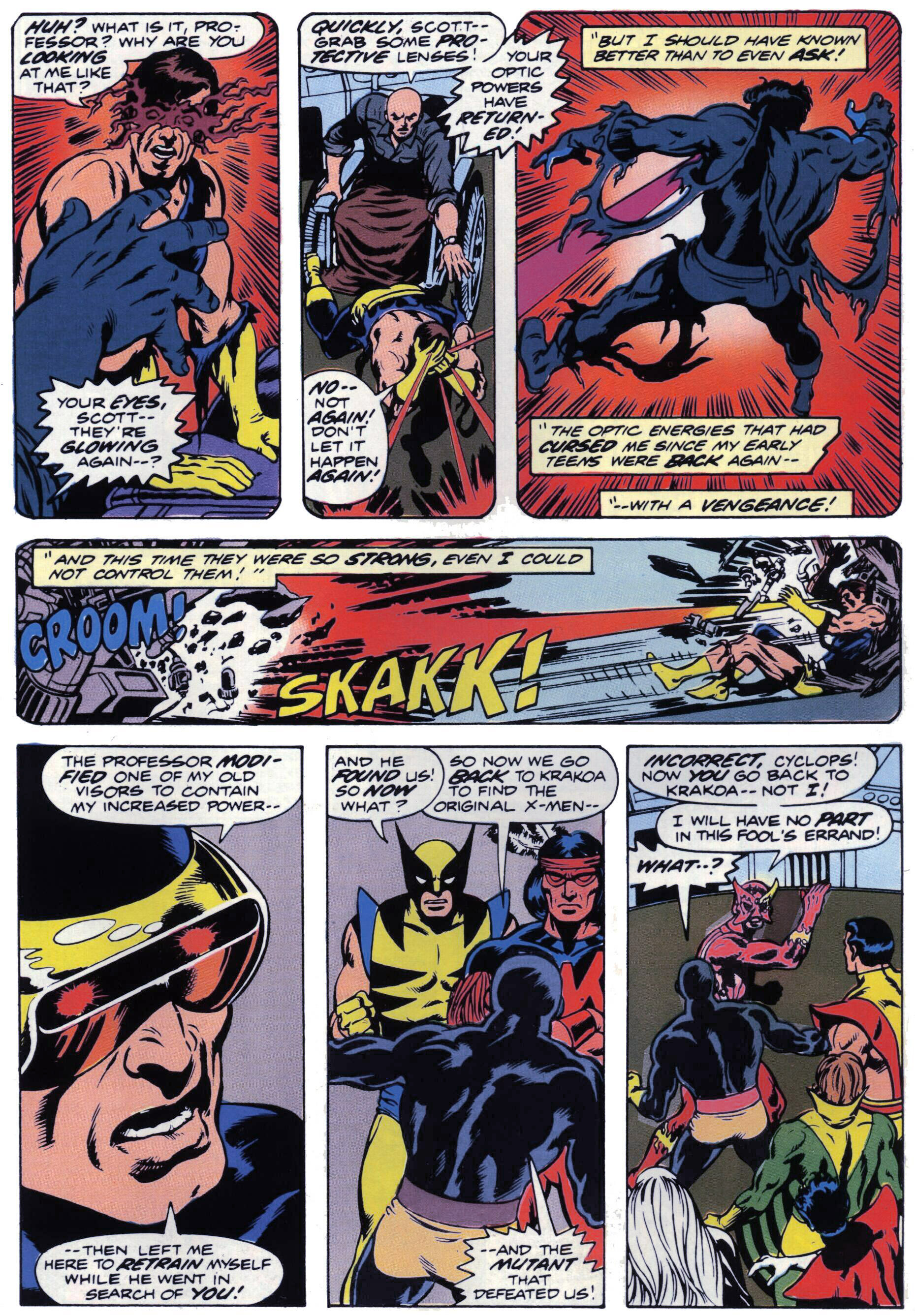 Read online Giant-Size X-Men comic -  Issue #1 - 20