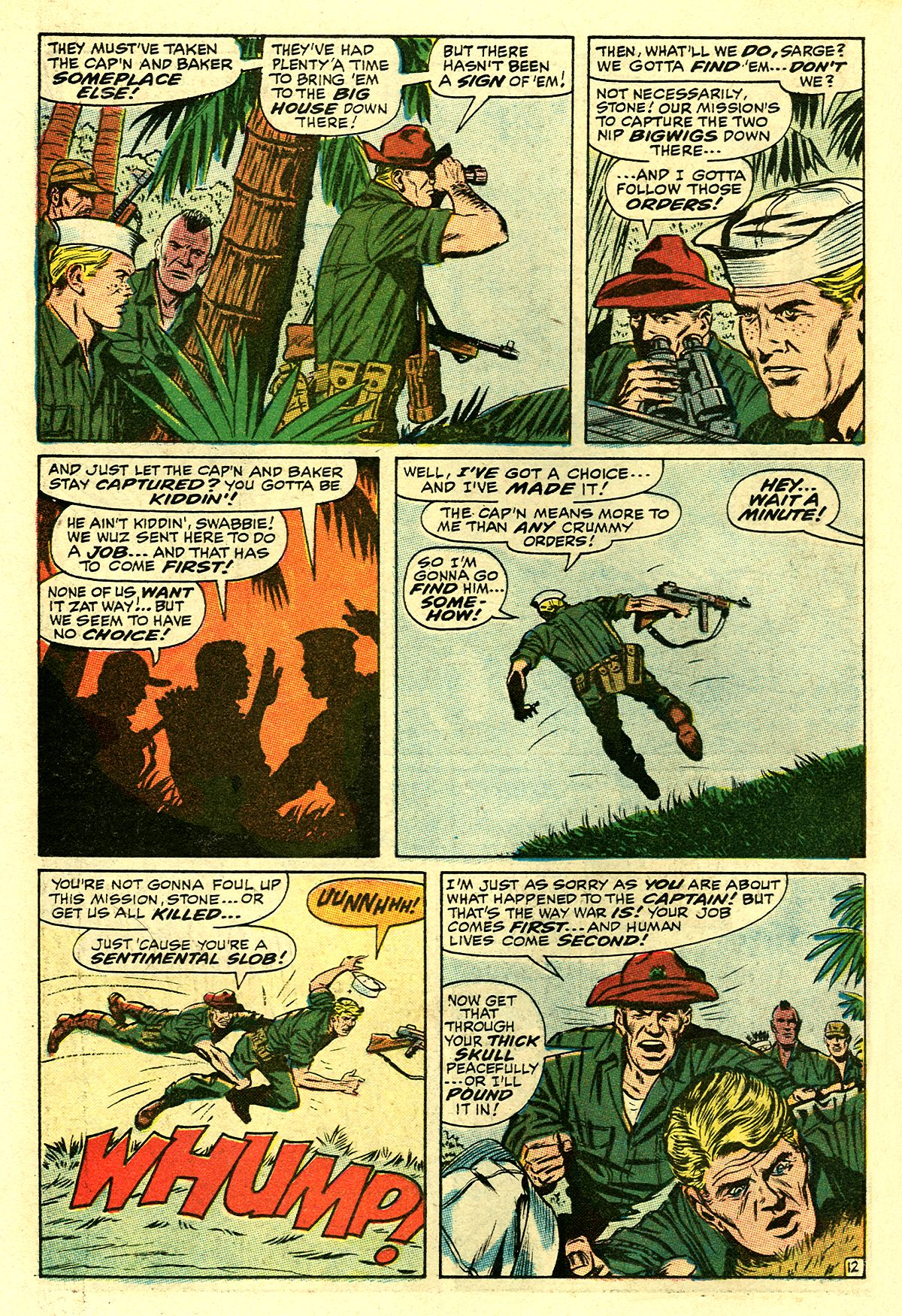 Captain Savage and his Leatherneck Raiders issue 8 - Page 18