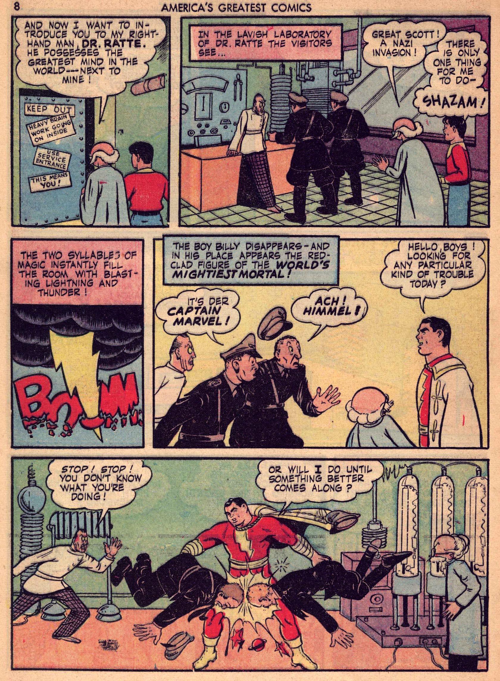 Read online America's Greatest Comics comic -  Issue #7 - 7