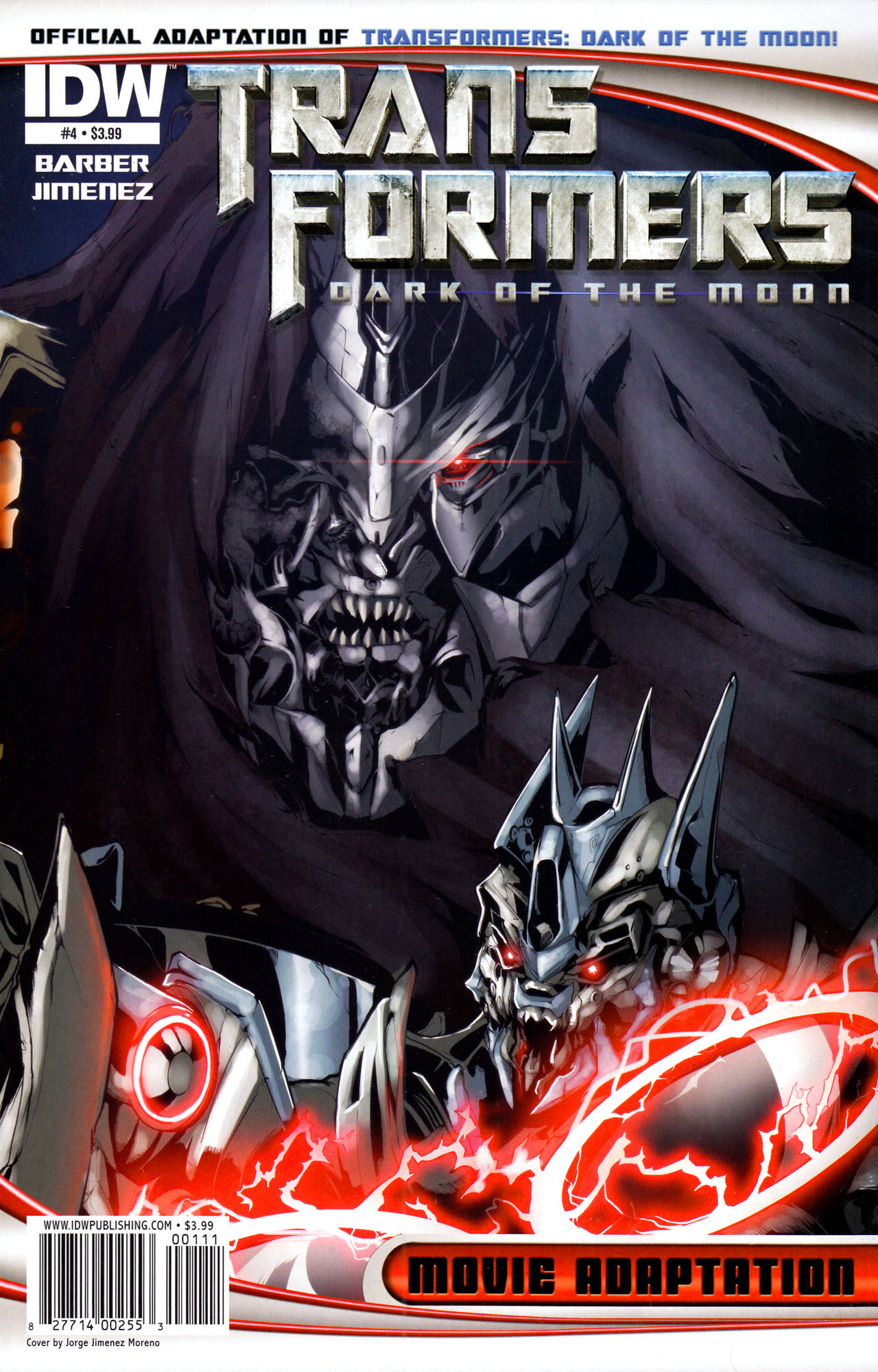 Read online Transformers: Dark of the Moon Movie Adaptation comic -  Issue #4 - 1