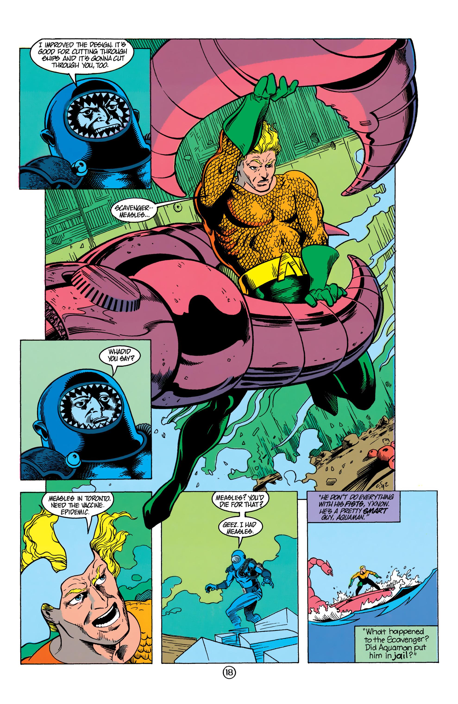 Read online Aquaman (1991) comic -  Issue #13 - 19