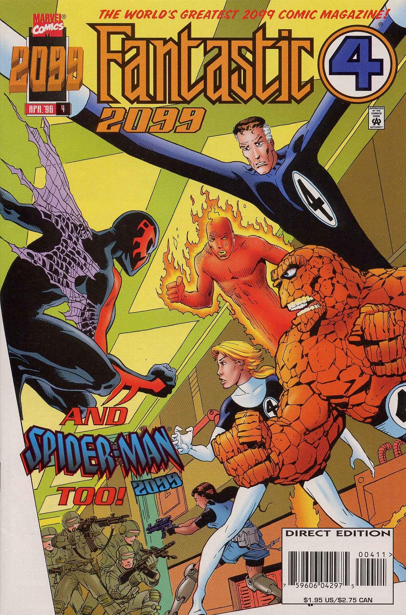 Fantastic Four 2099 4 Page 1
