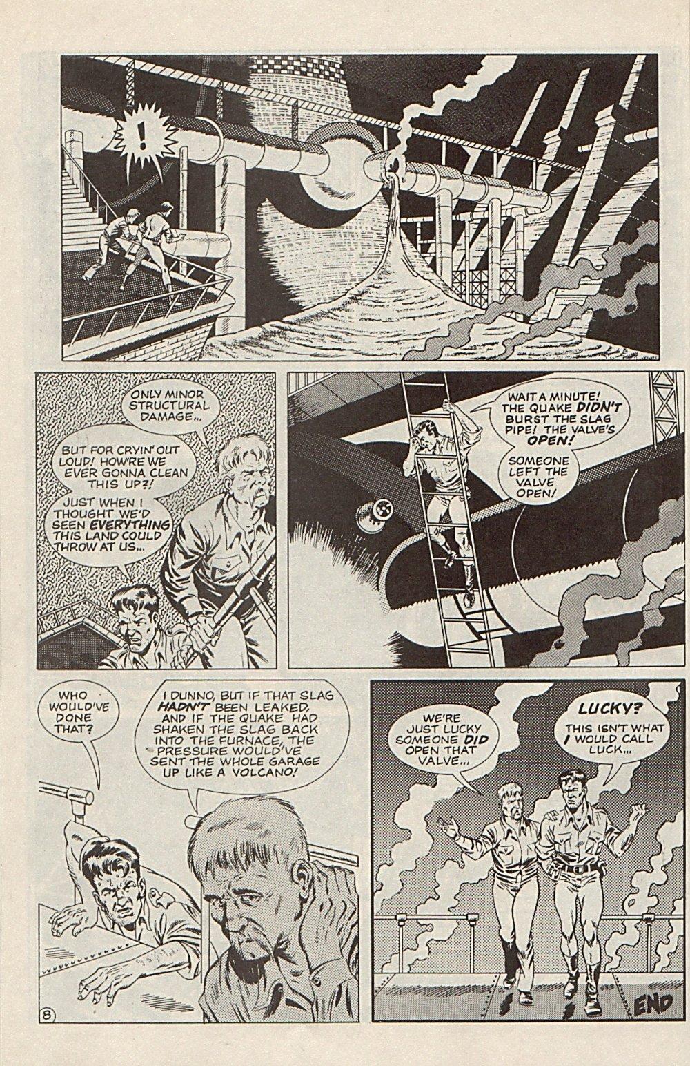 Read online Xenozoic Tales comic -  Issue #6 - 31