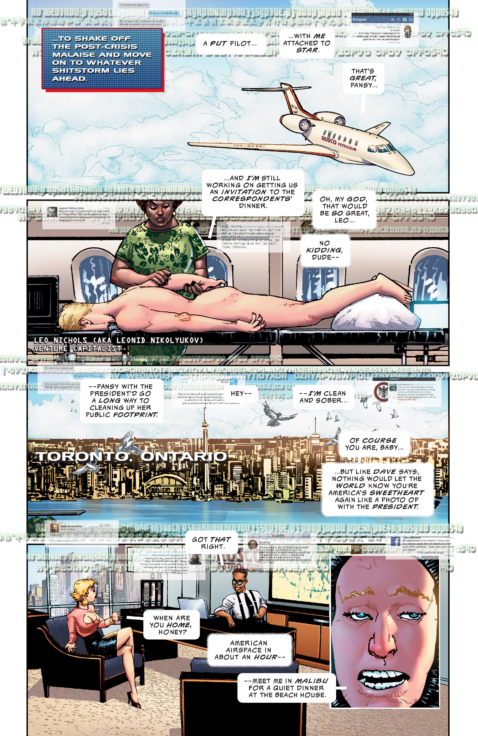 Read online The Divided States of Hysteria comic -  Issue #1 - 6