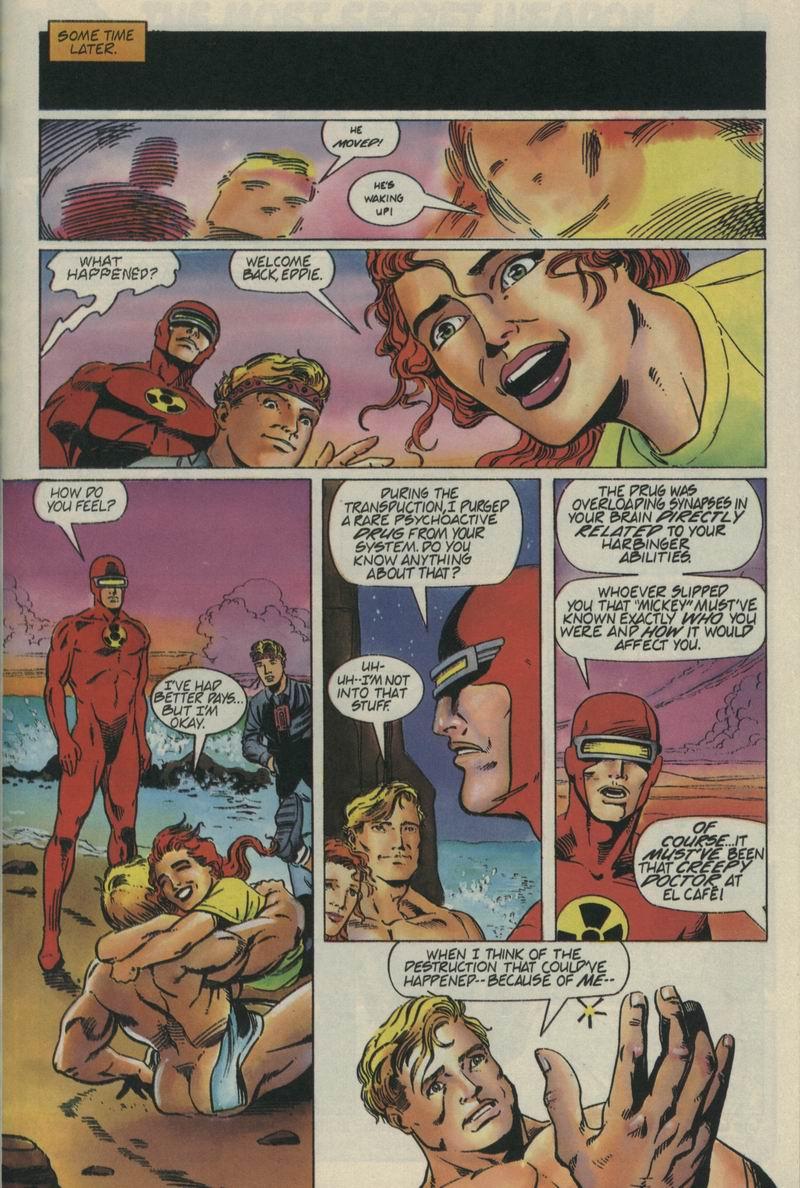 Read online Secret Weapons comic -  Issue #4 - 21
